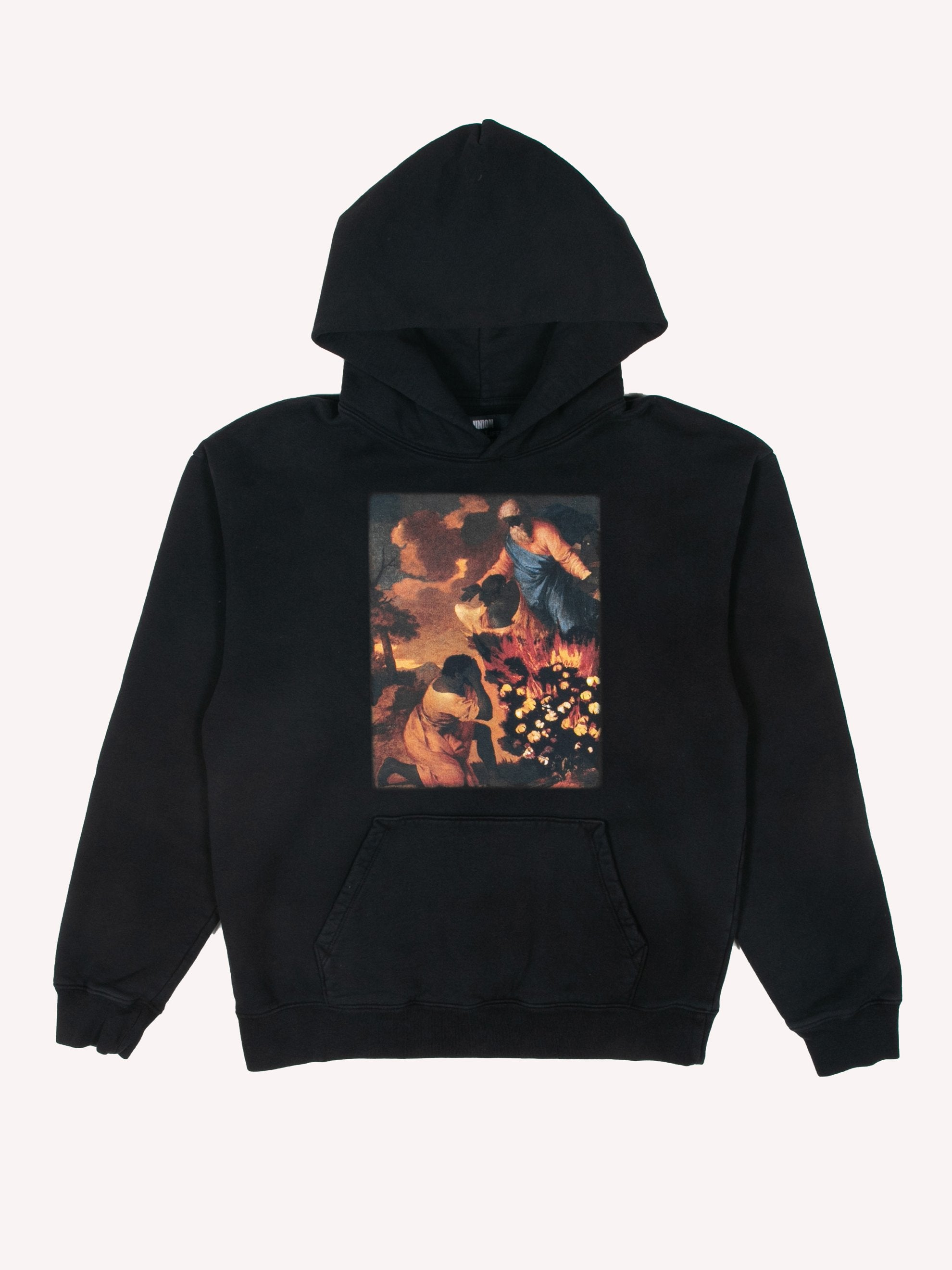 Black Denim Tears x Eco Graphic Hooded Sweatshirt 1