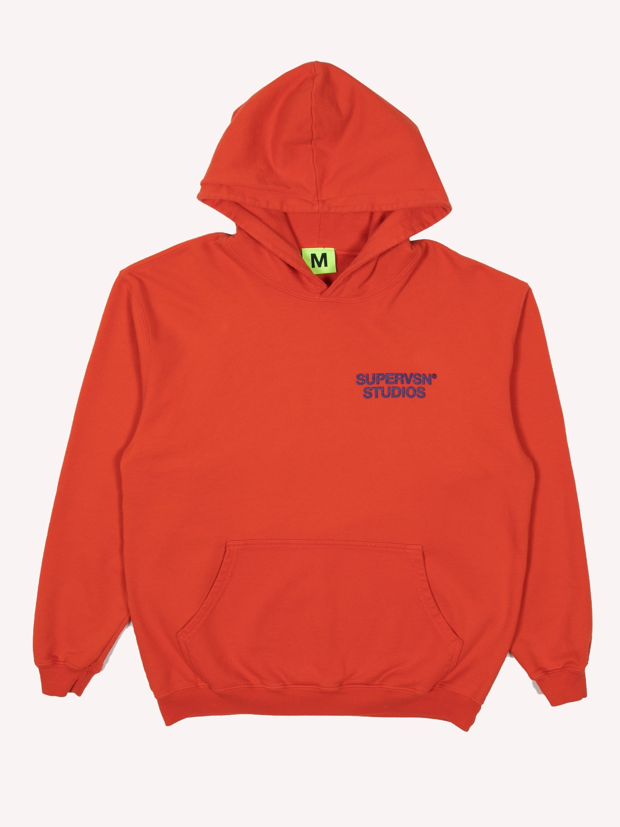 Burnt Orange STUDIO Field Hoodie 1