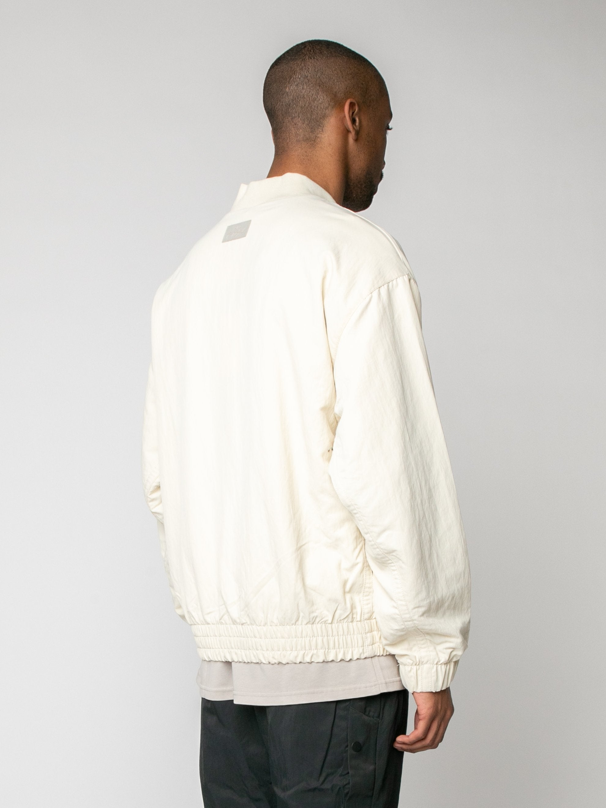 Light Cream Nike x Fear of God Basketball Jacket 5