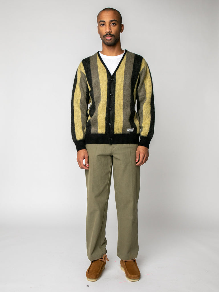 Striped Mohair Cardigan15974208831565