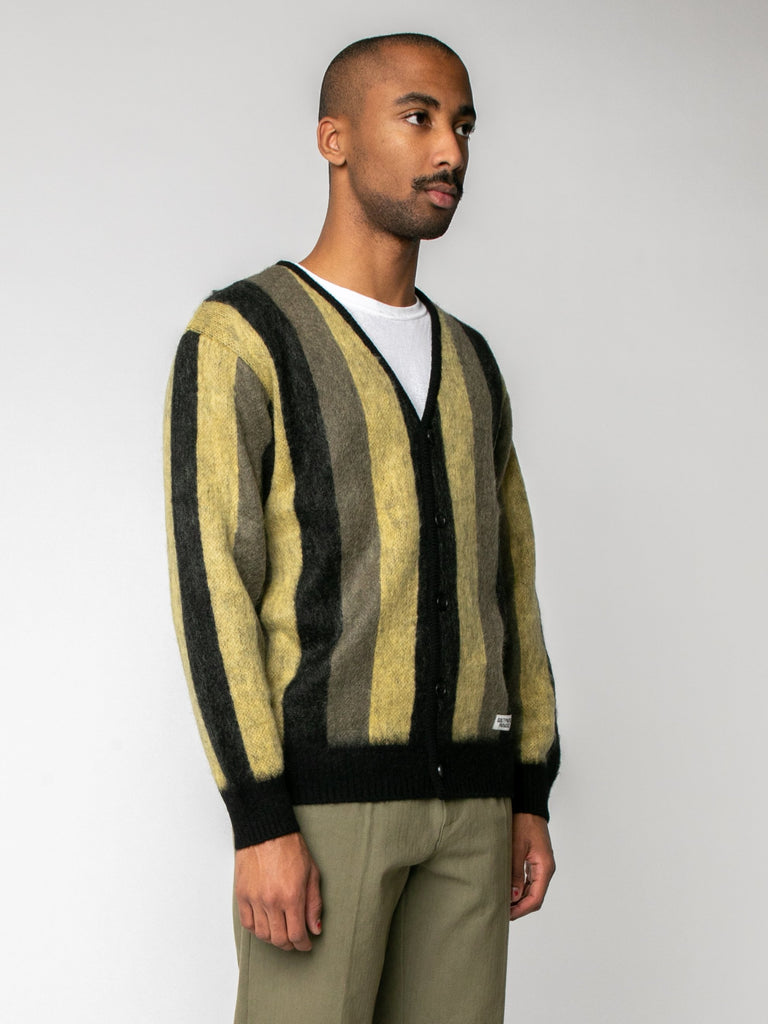 Striped Mohair Cardigan15974209290317