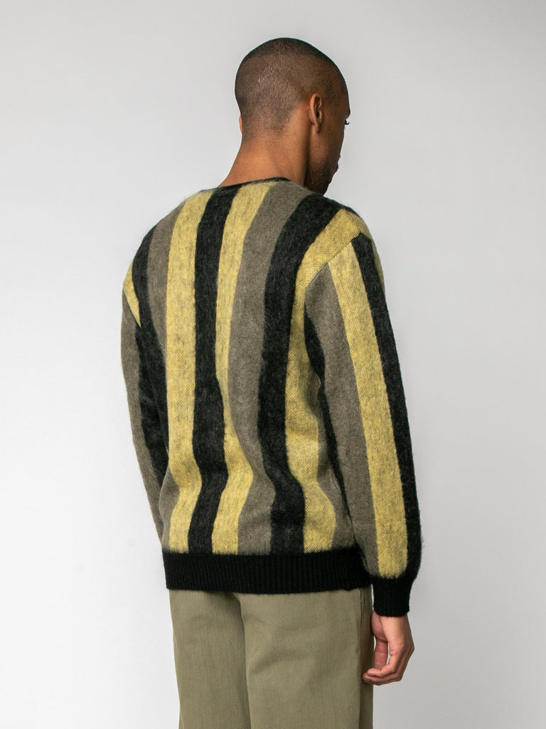Striped Mohair Cardigan15974209552461