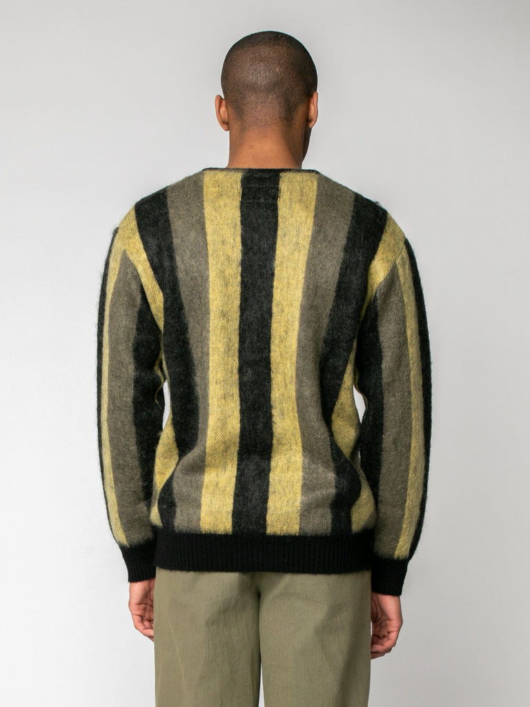 Striped Mohair Cardigan15974210076749