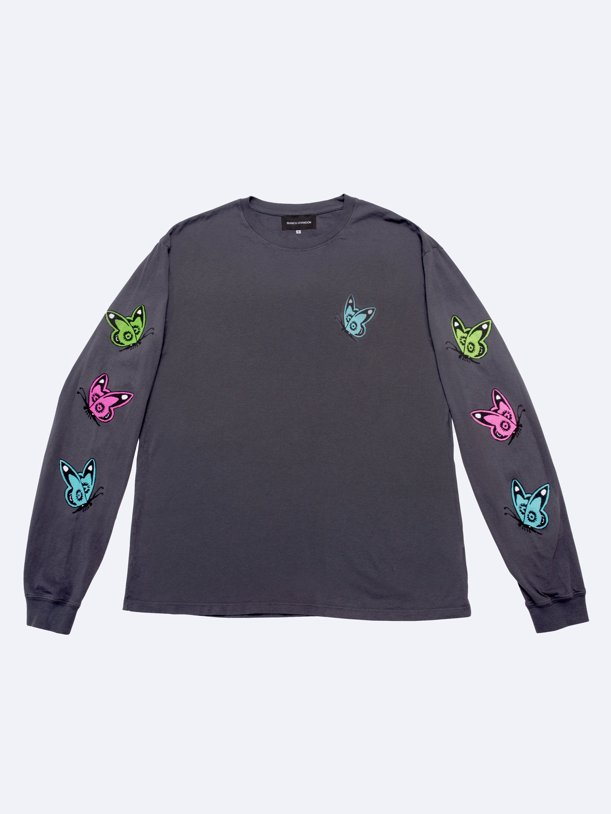 Charcoal Love Like This L/S T-Shirt 1