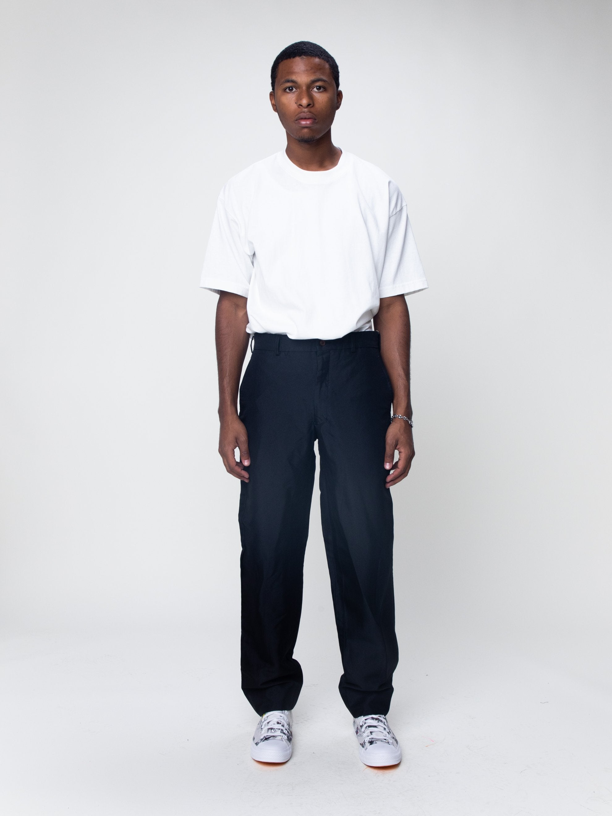 Boiled Poly Trouser