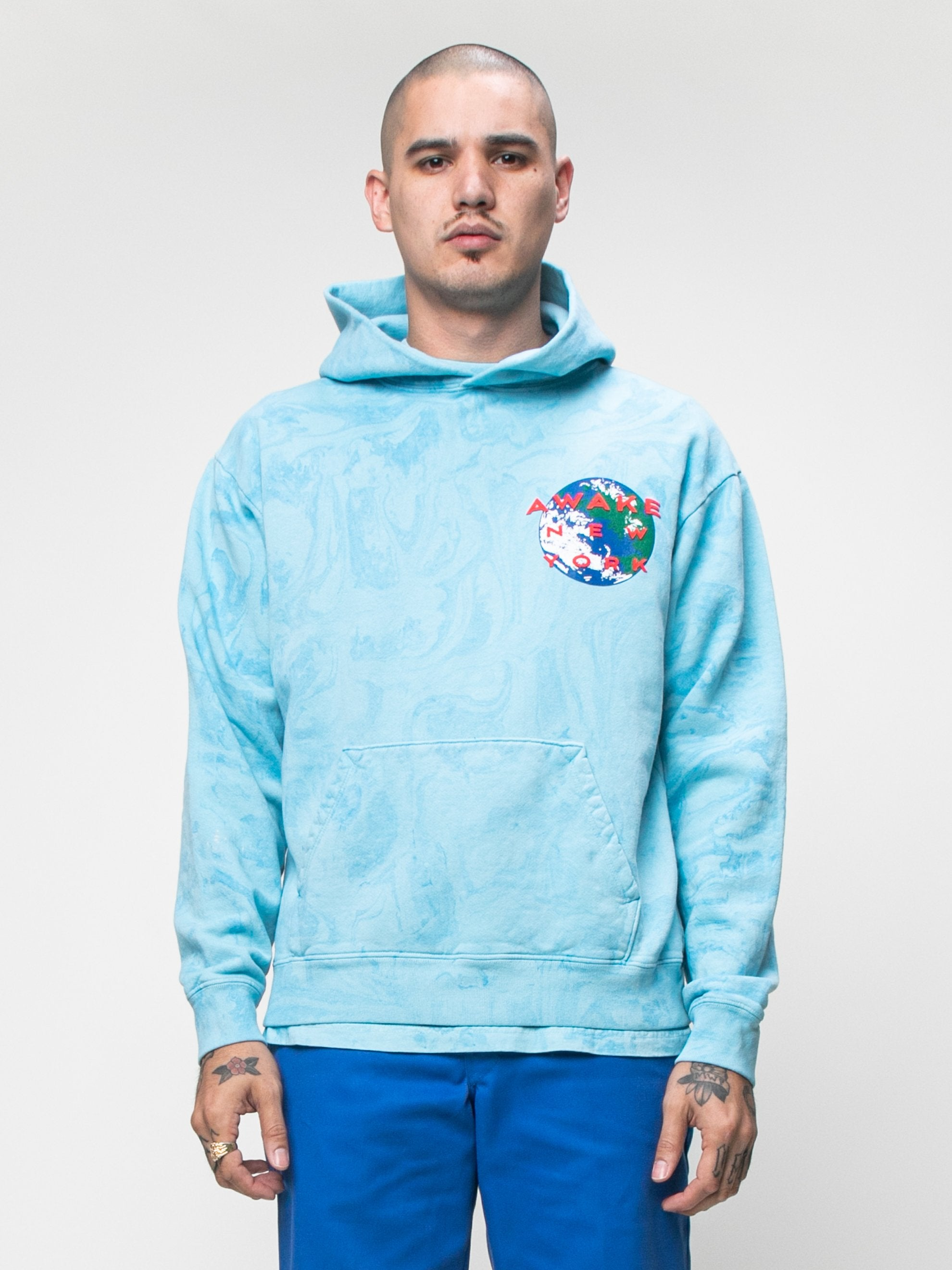 Tie Dye Awake x Eco World Hooded Sweatshirt 2
