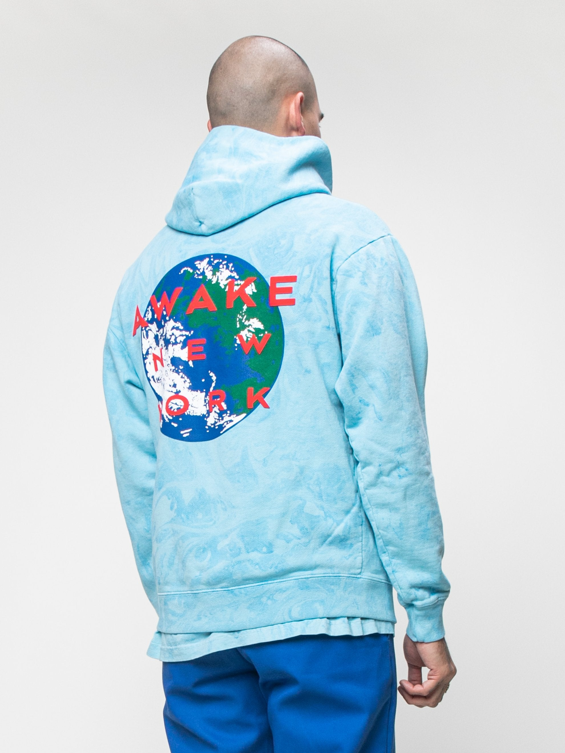 Tie Dye Awake x Eco World Hooded Sweatshirt 5