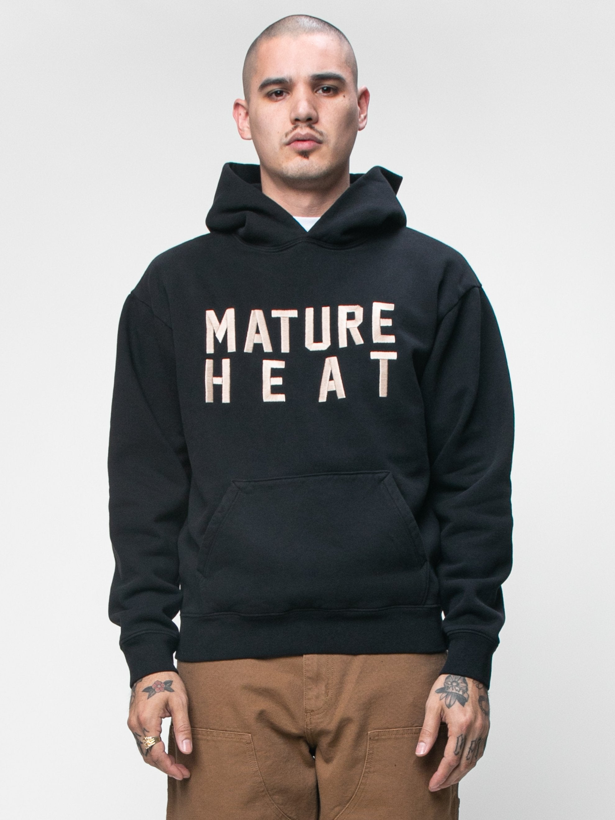 Black Cali Dewitt x Eco Mature Heat Hooded Sweatshirt 2