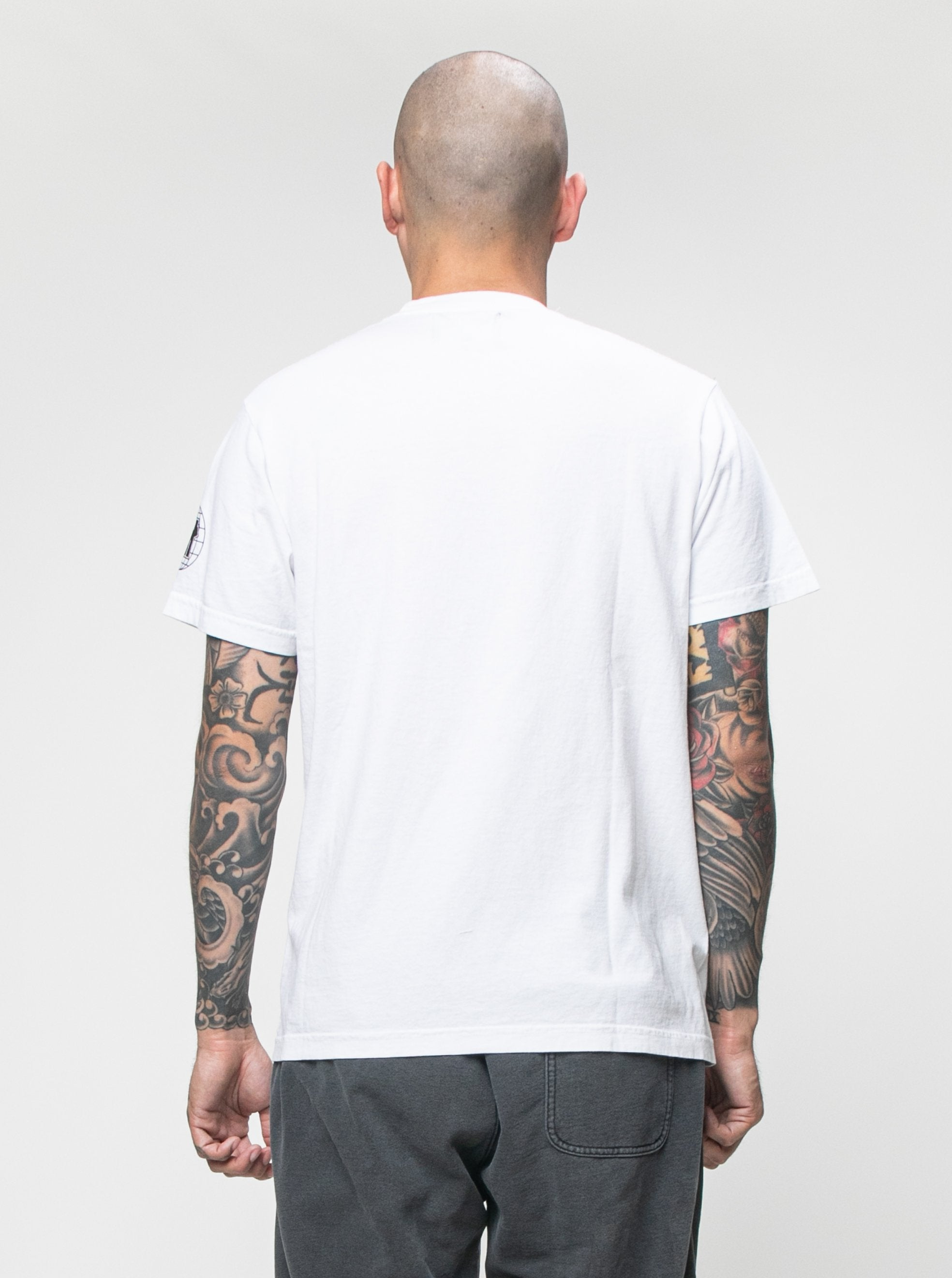 White UNDFTD x Eco In Our Hands T-Shirt 6