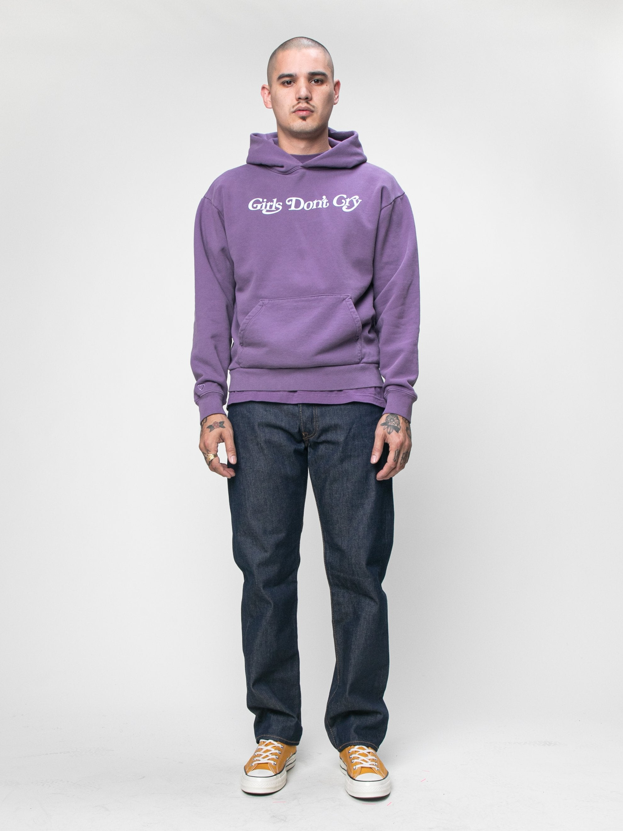 Purple GDC x Eco Logo Hooded Sweatshirt 3