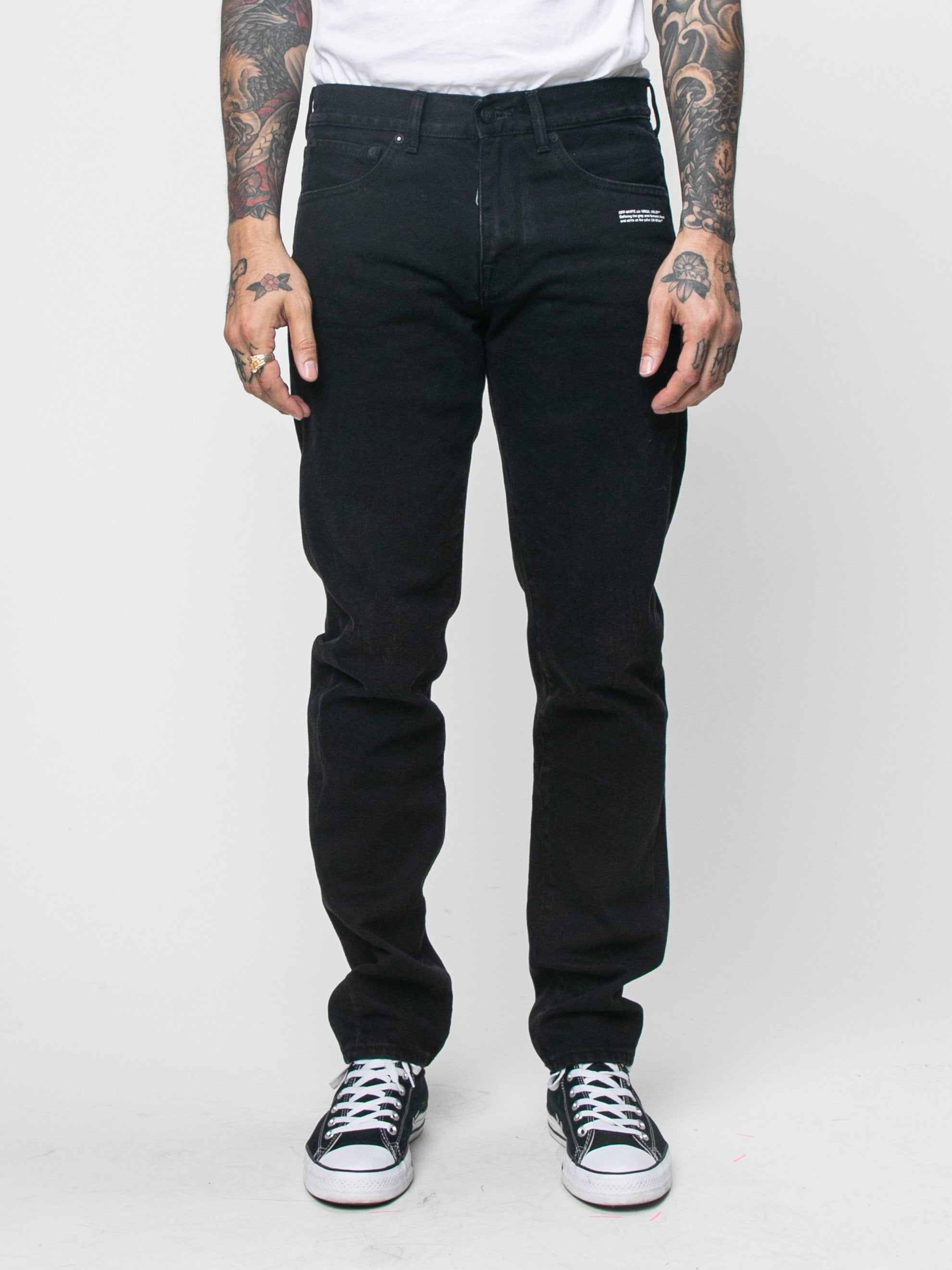 Diag Pocket Slim Jeans