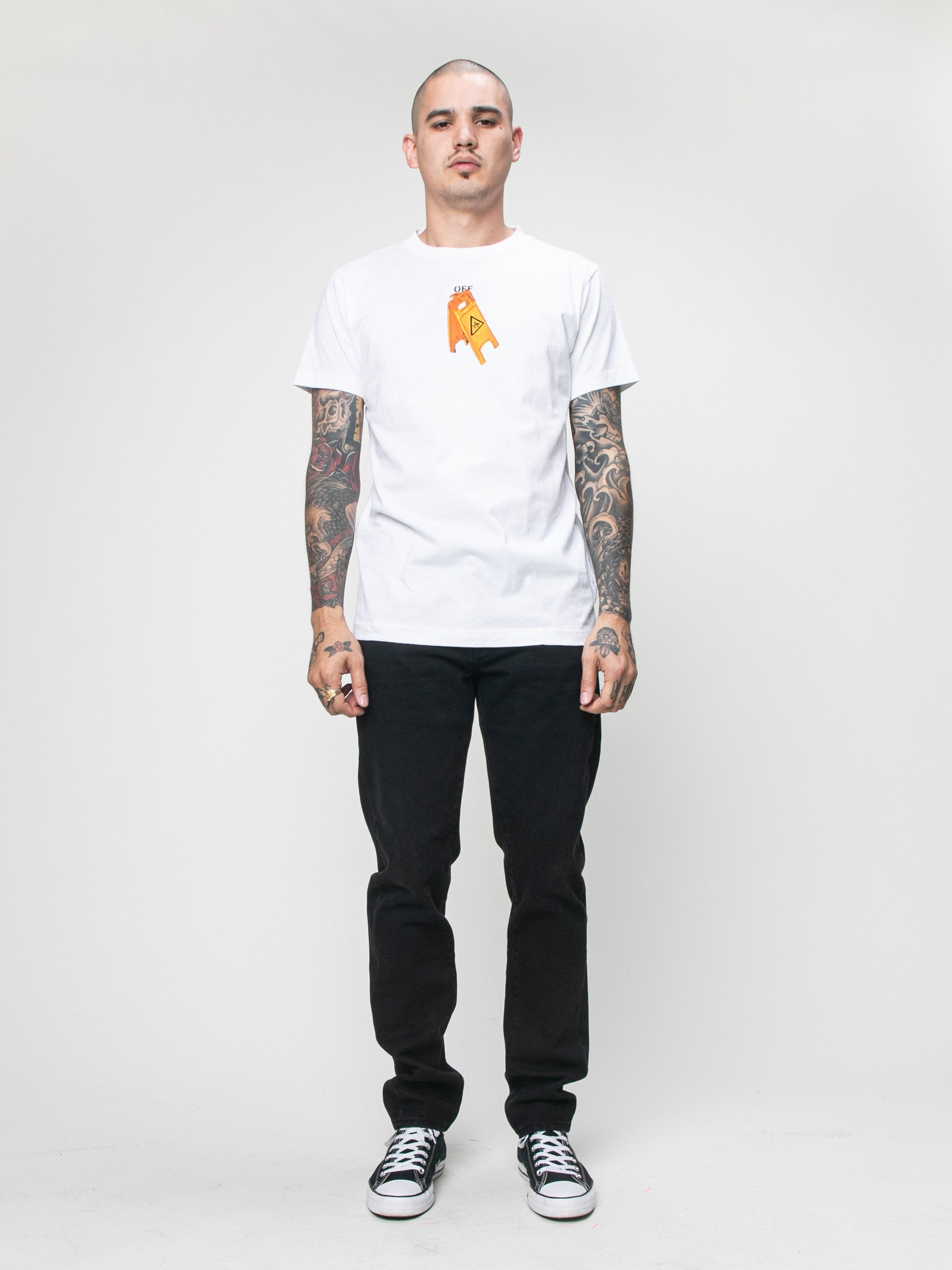 Pascal Skeleton S/S Slim T-Shirt