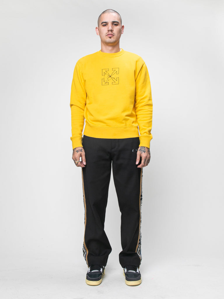 Logo Workers Slim Crewneck15944734179405