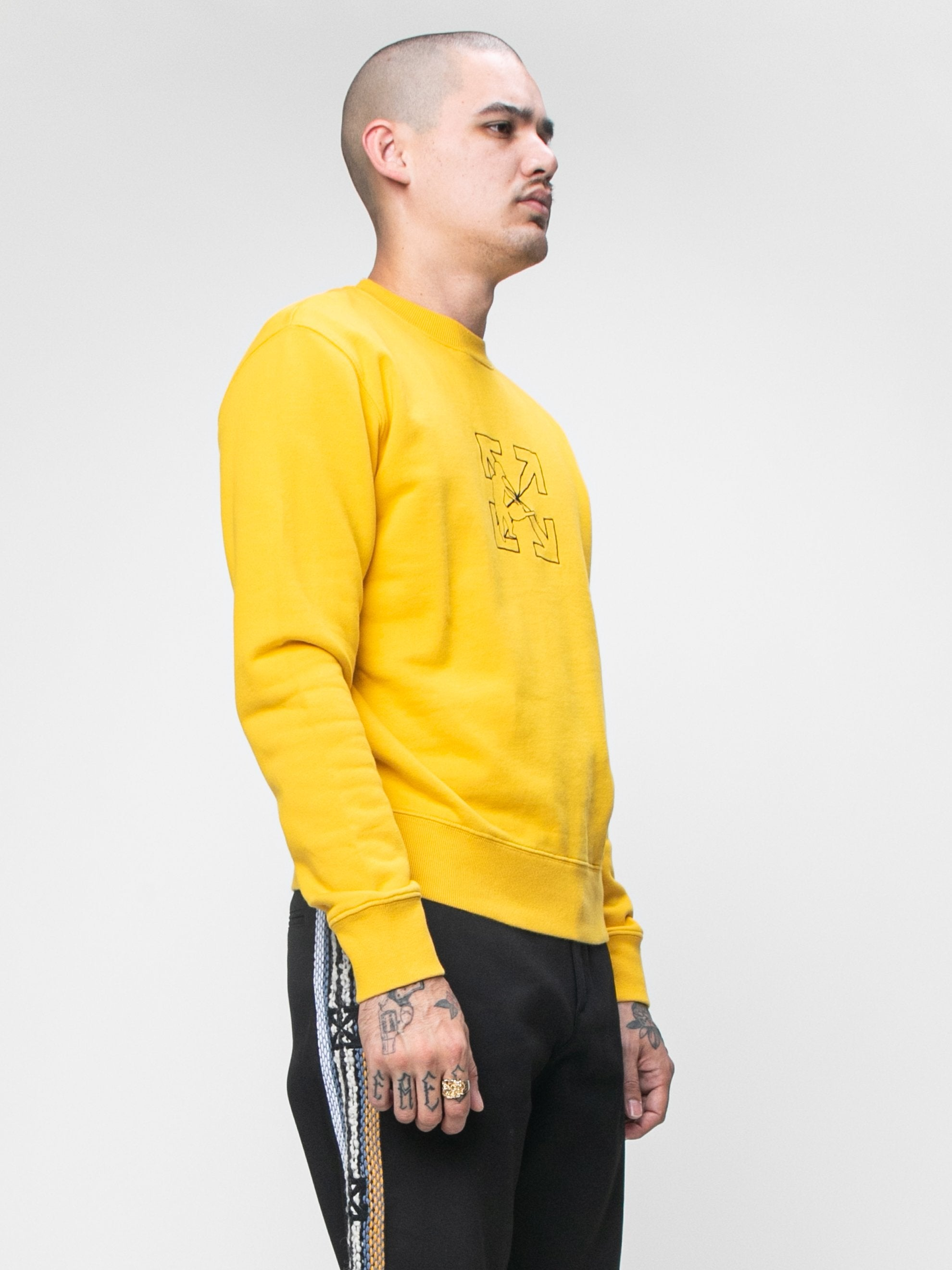 Logo Workers Slim Crewneck