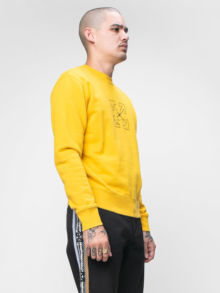 Logo Workers Slim Crewneck15944734965837
