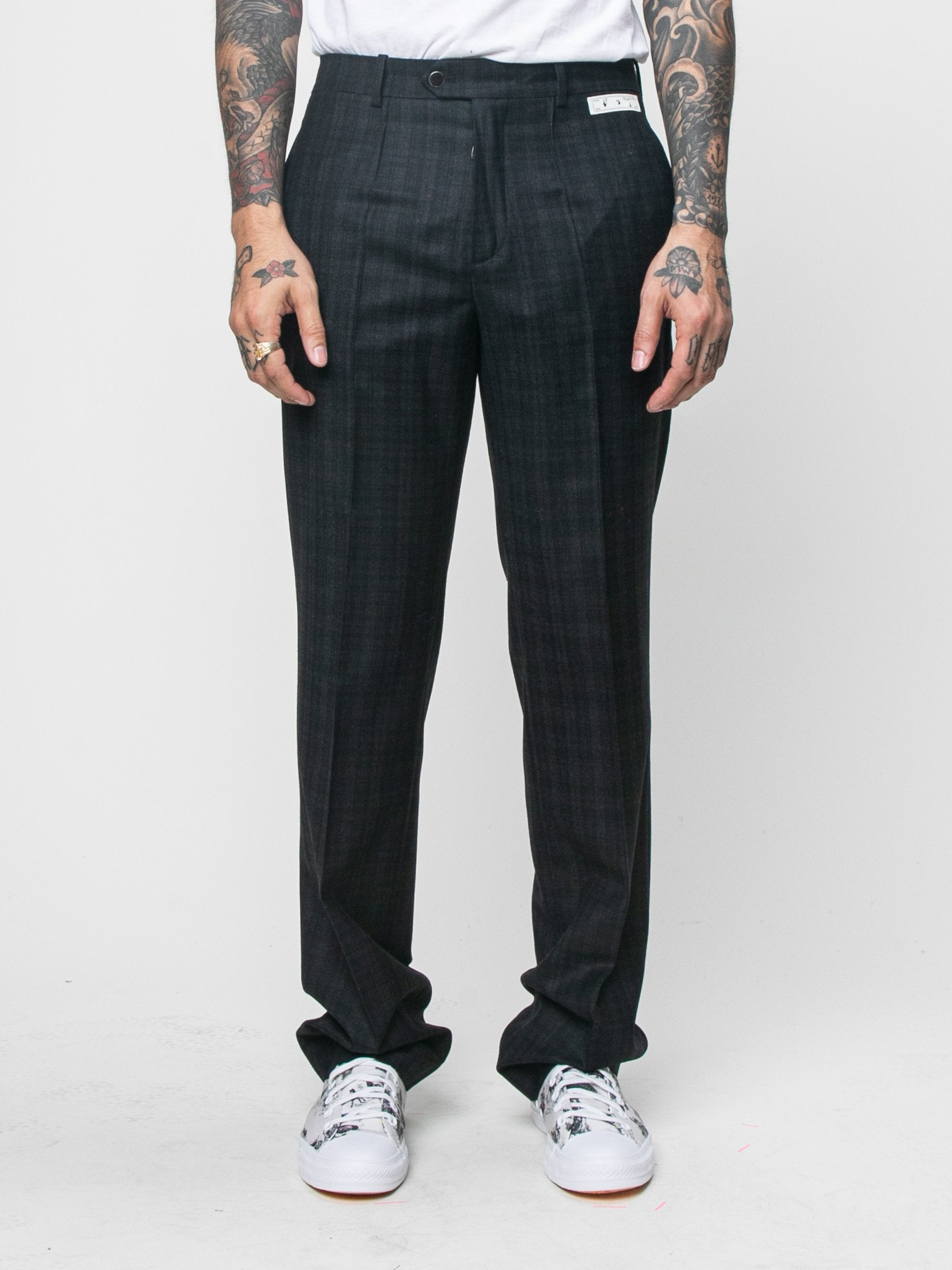 Black Slim Tailored Pant 2