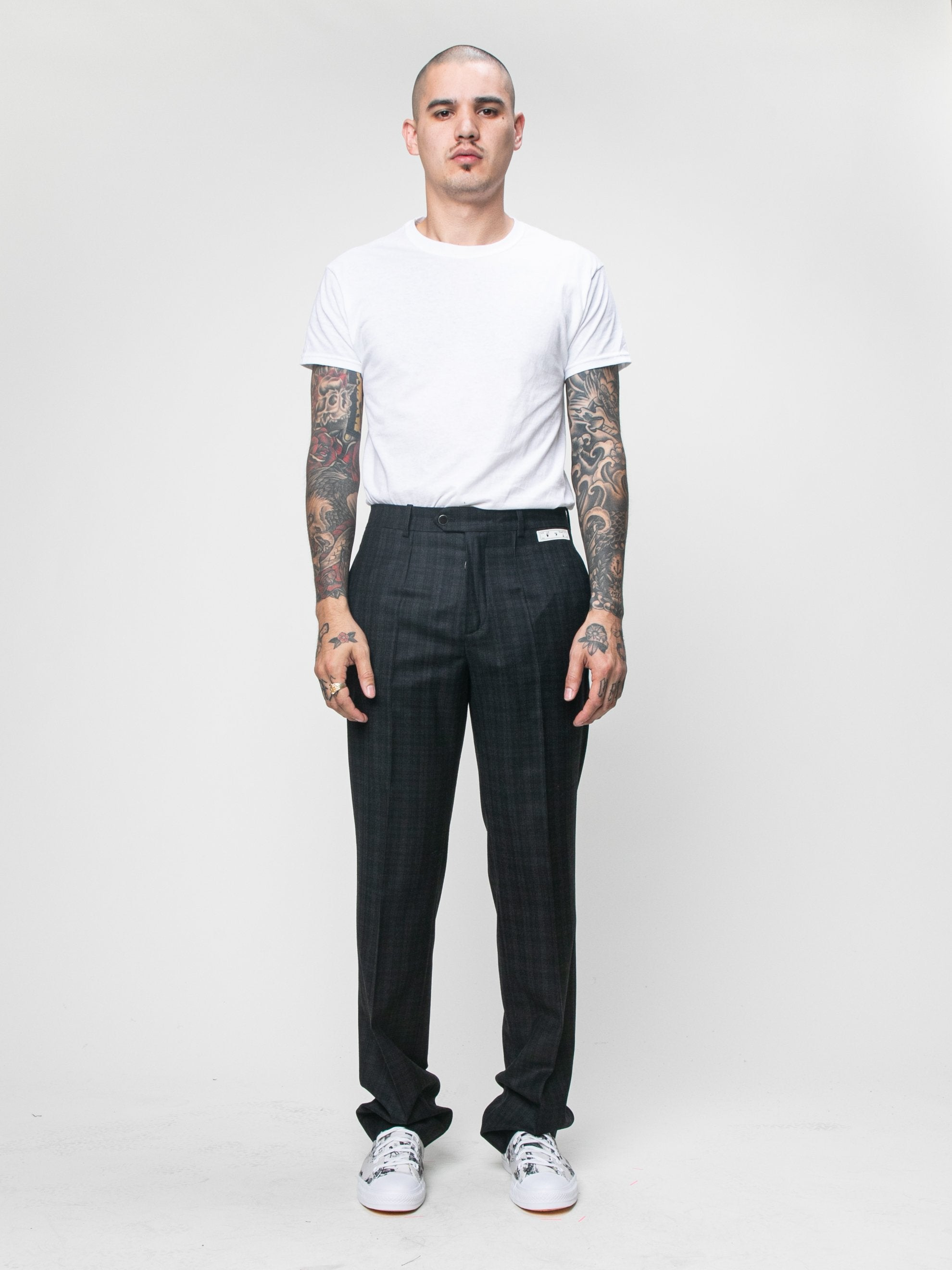 Black Slim Tailored Pant 3