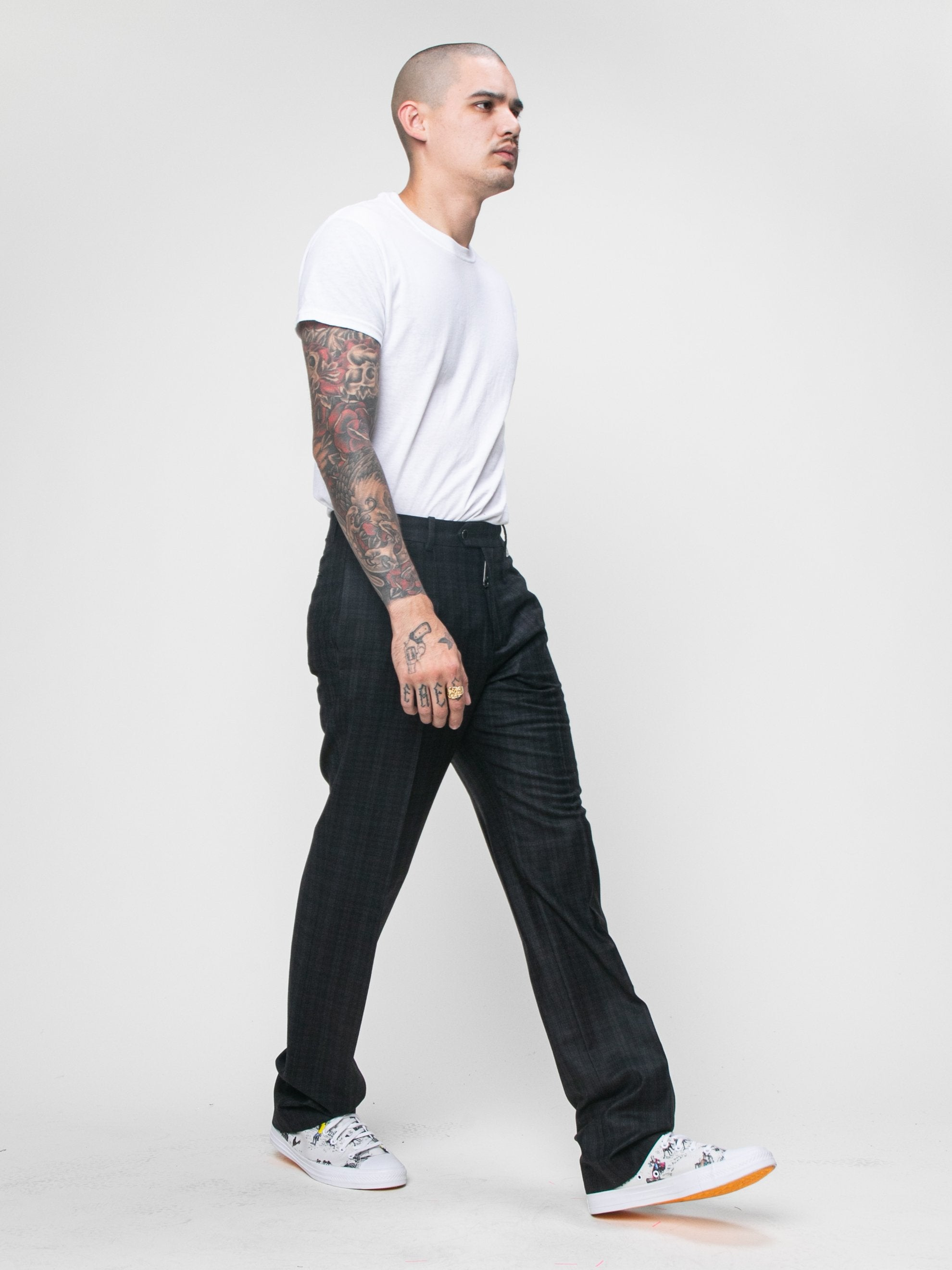 Black Slim Tailored Pant 6