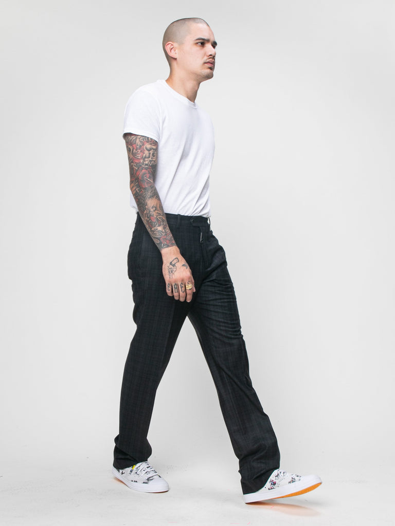 Black Slim Tailored Pant 615944788148301