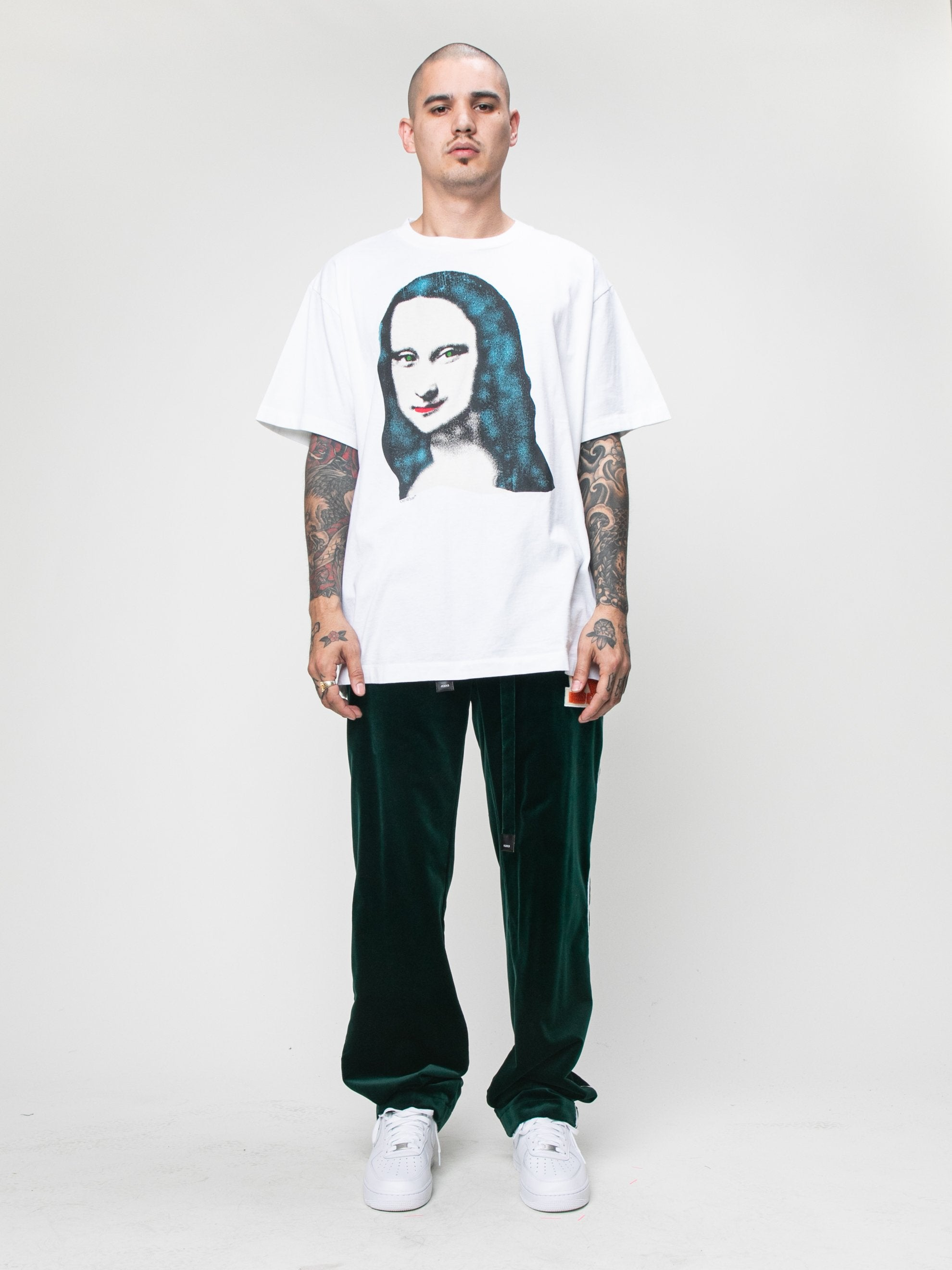 White Monalisa S/S Over T-shirt 3