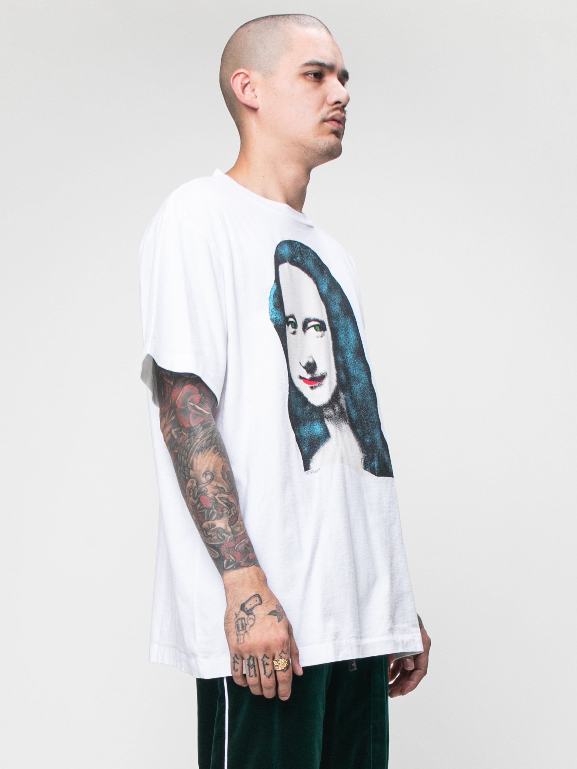 White Monalisa S/S Over T-shirt 4