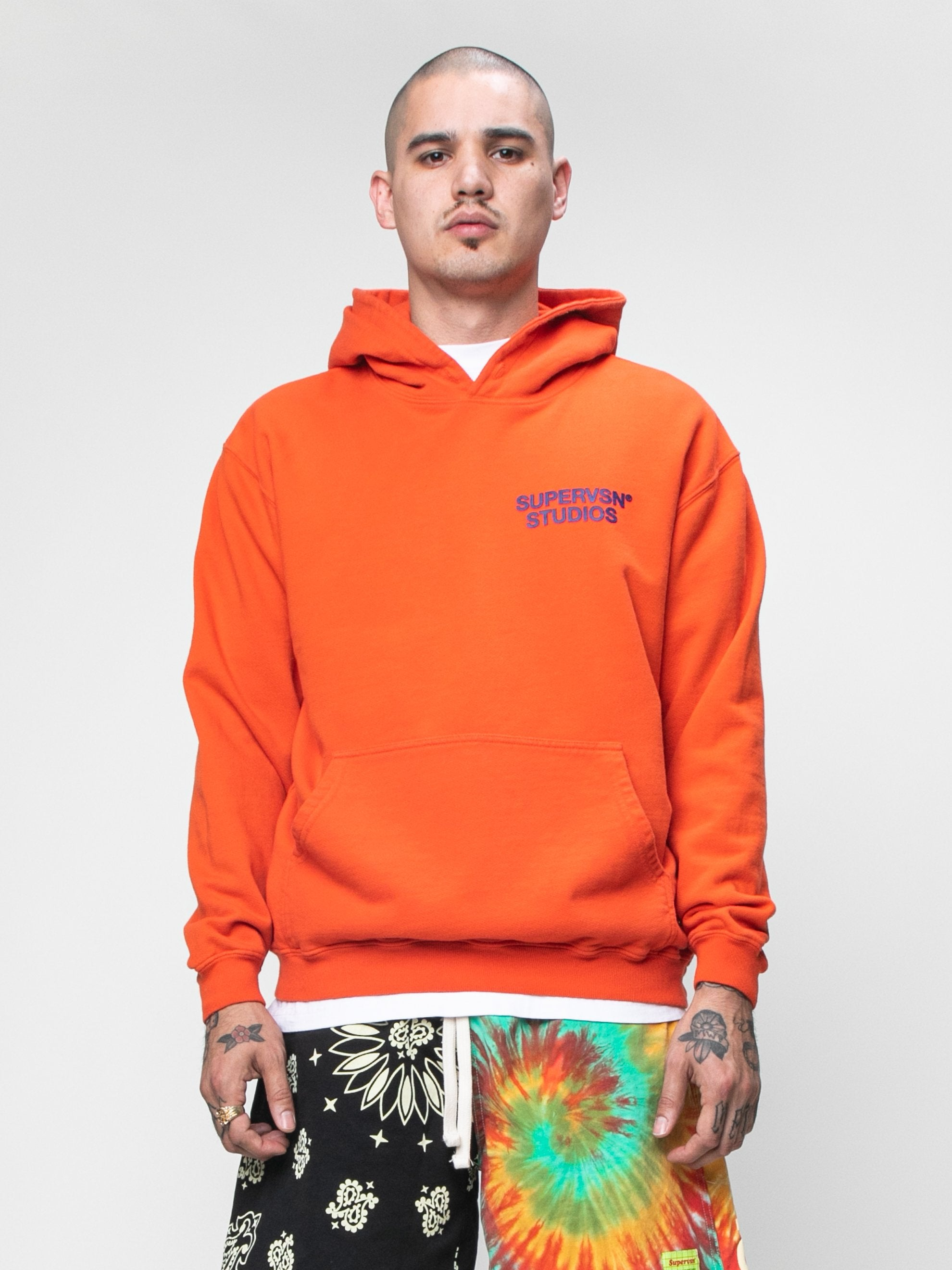 Burnt Orange STUDIO Field Hoodie 2
