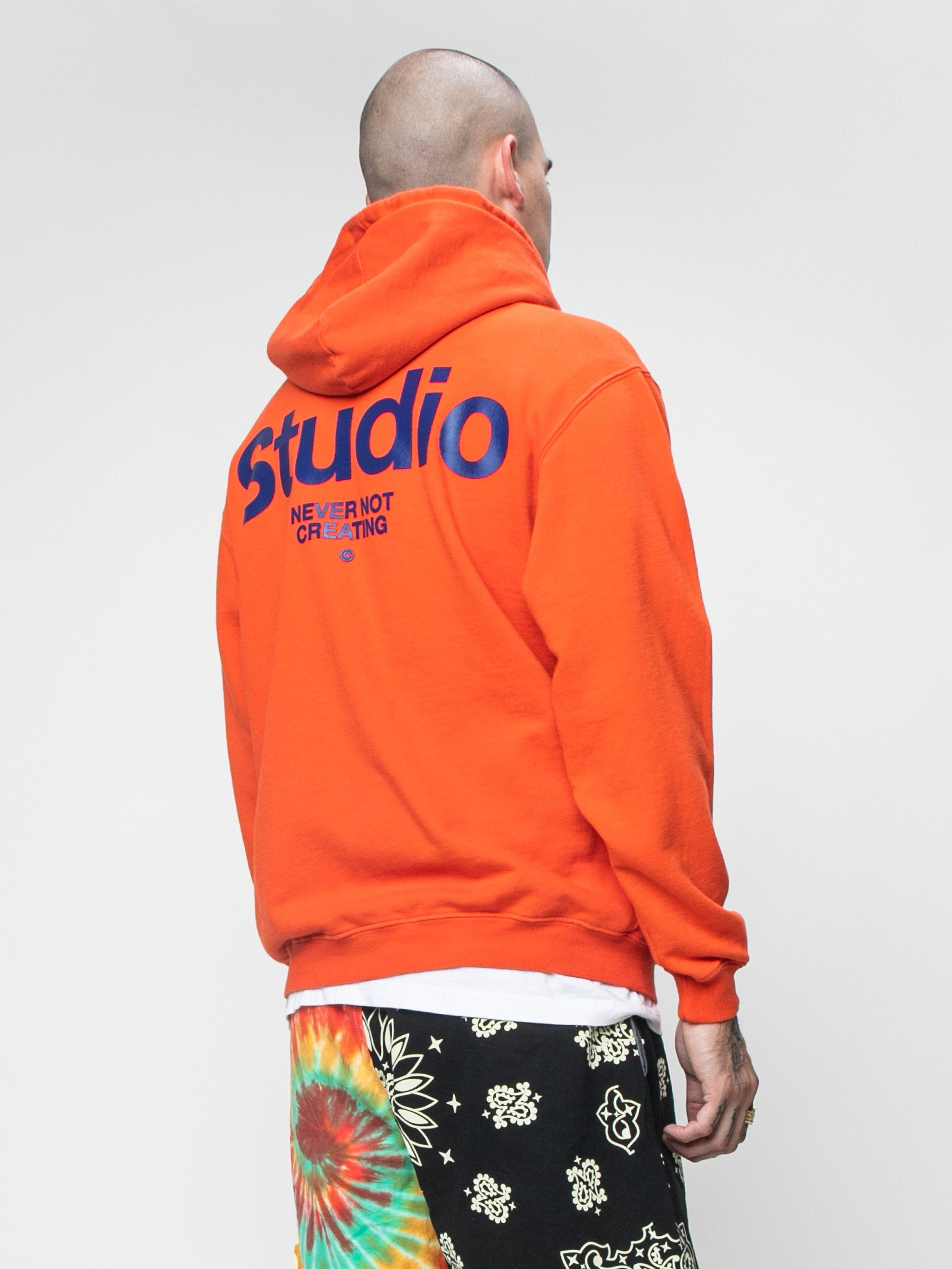 Burnt Orange STUDIO Field Hoodie 5