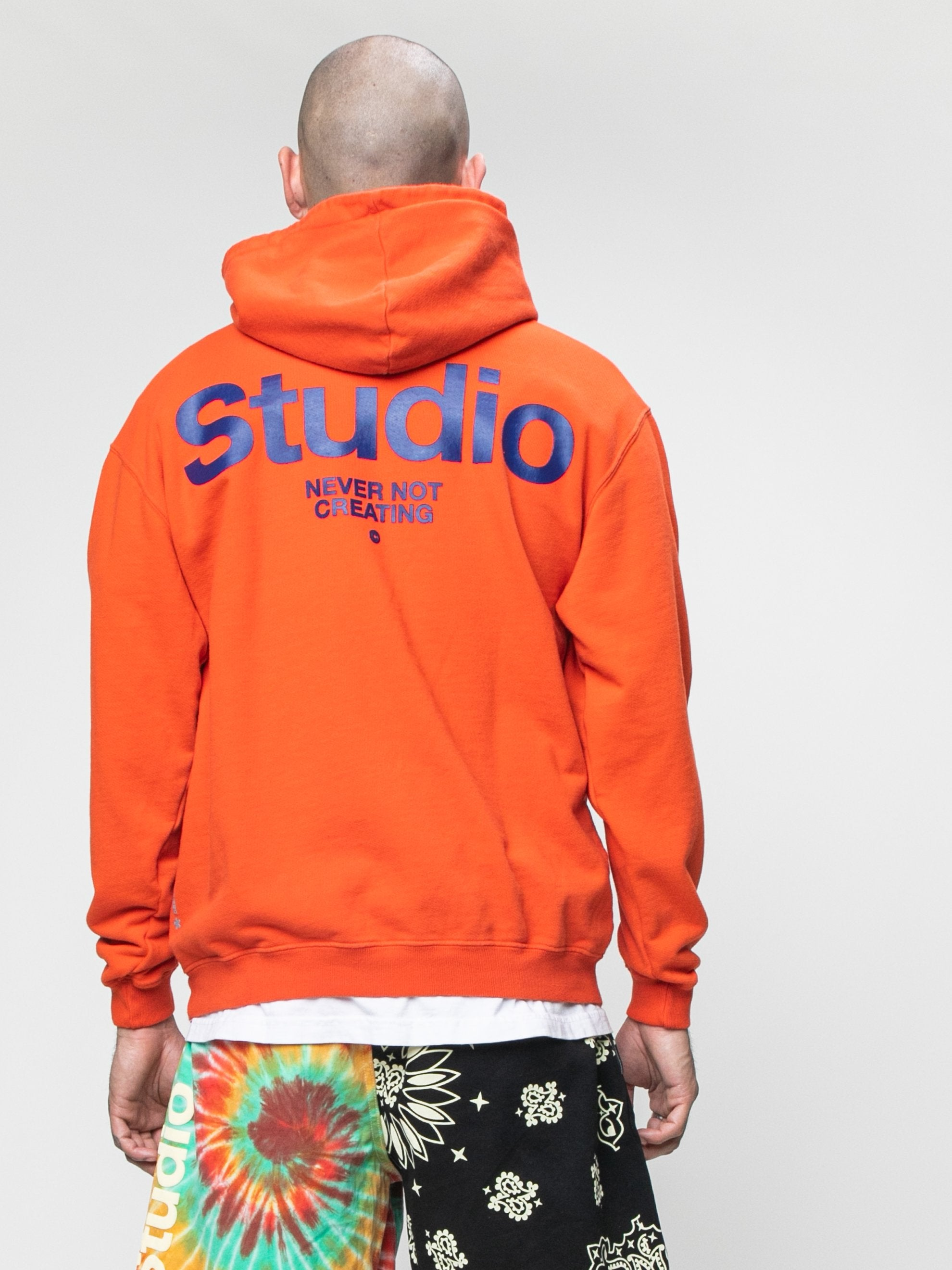 Burnt Orange STUDIO Field Hoodie 6