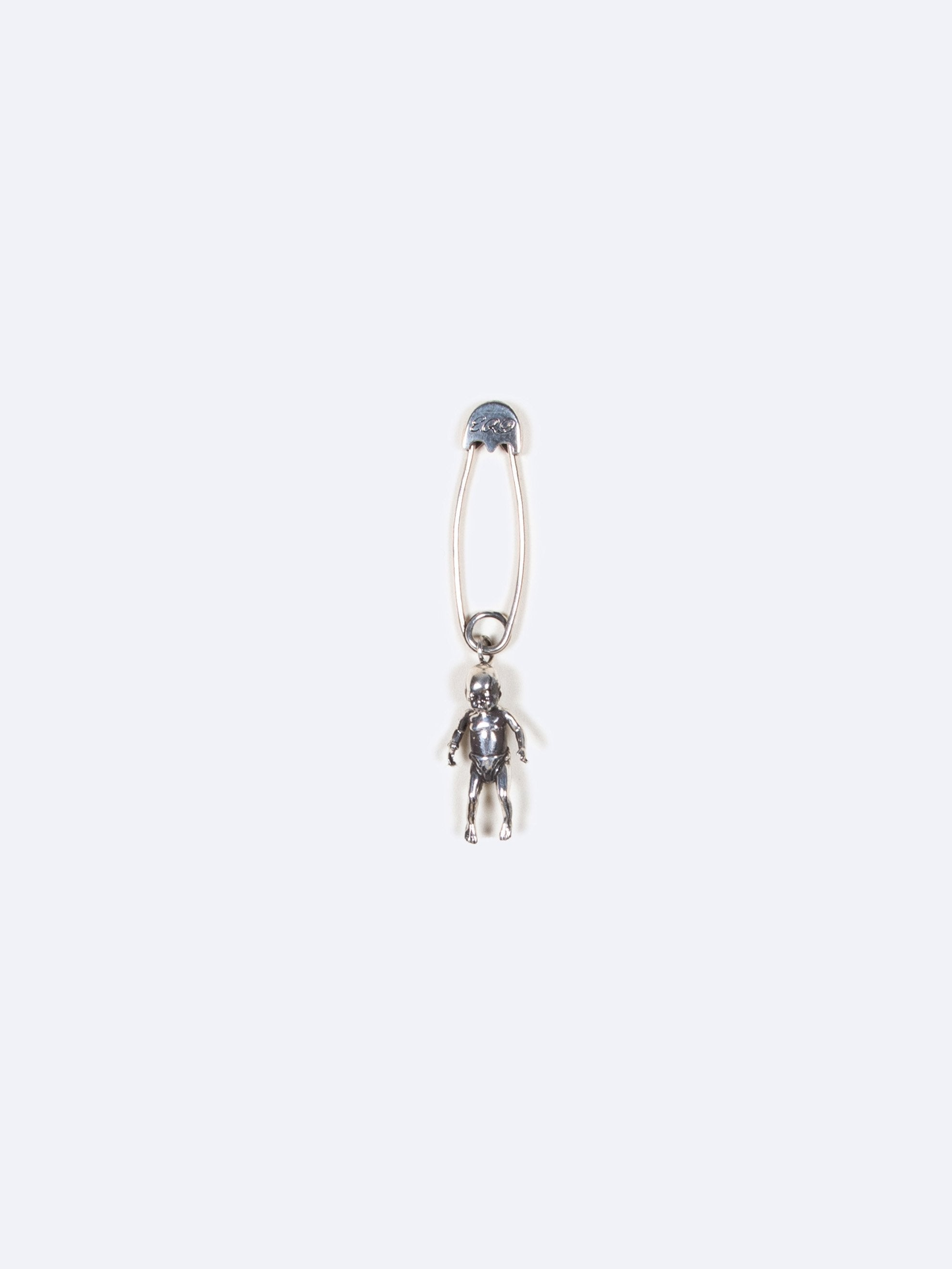 Silver Crack Baby Safety Pin 1