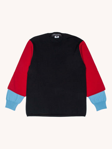 Color Block Sleeve Sweater
