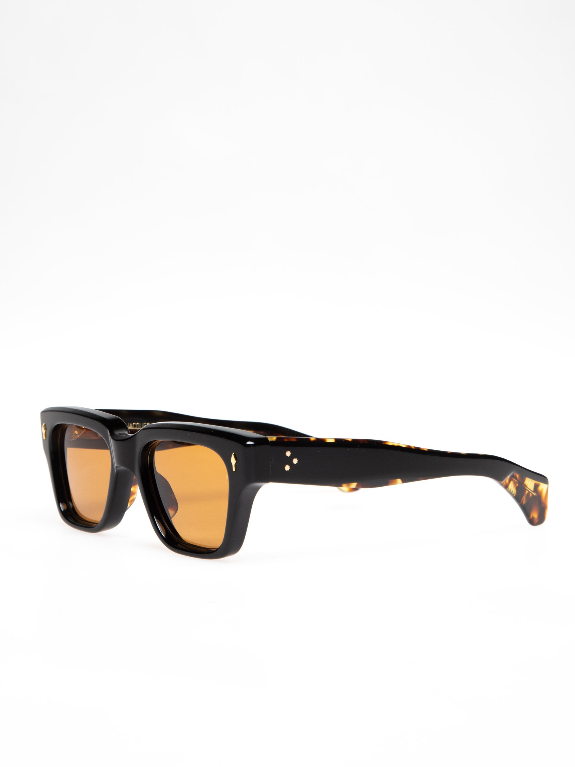 Orange CR39/ 18k Dark Gold Fellini Noir 2