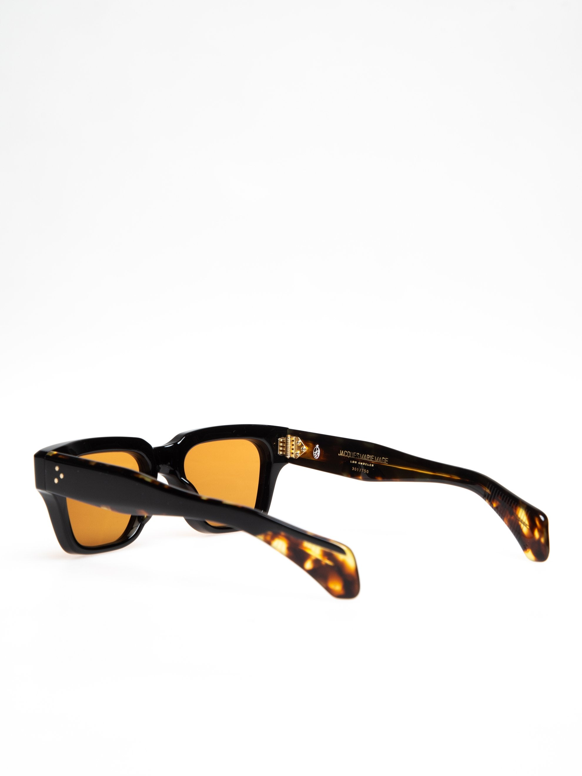 Orange CR39/ 18k Dark Gold Fellini Noir 4
