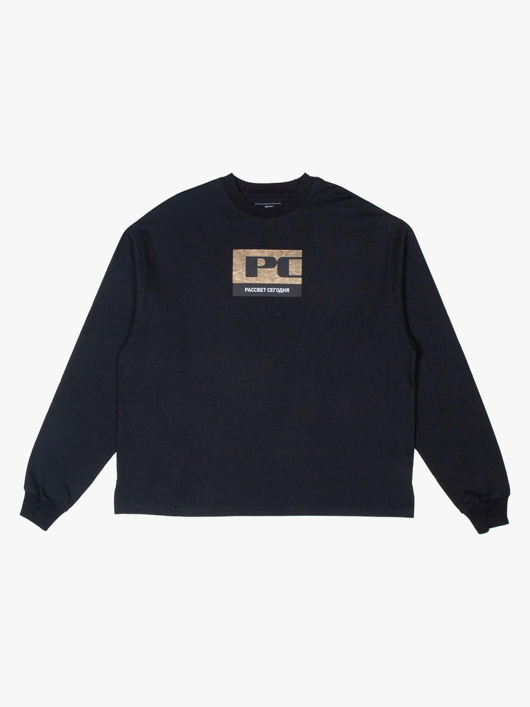 """PC"" Logo Long Sleeve T-Shirt"