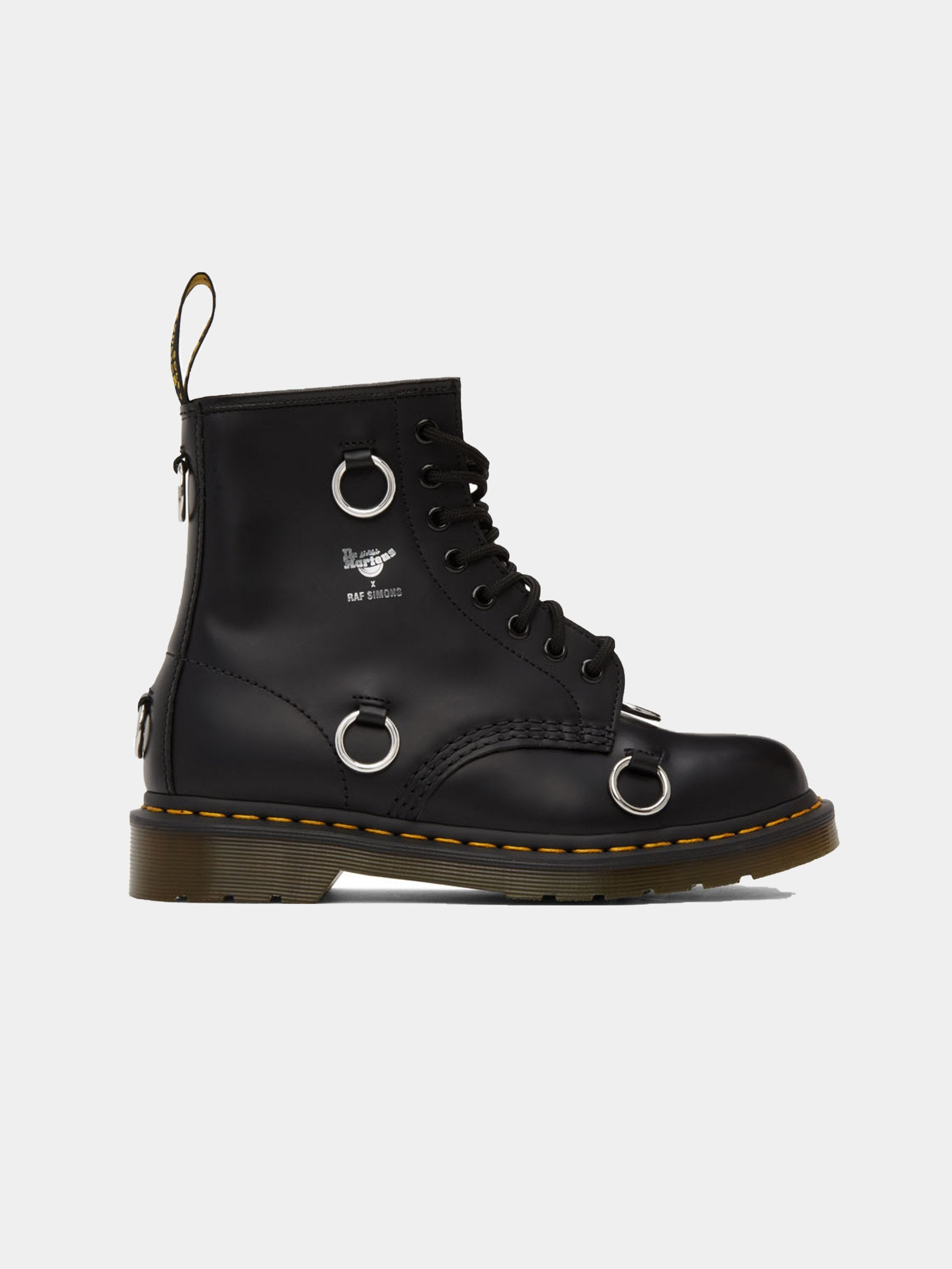 Black Dr. Martens High Boot With Rings 1