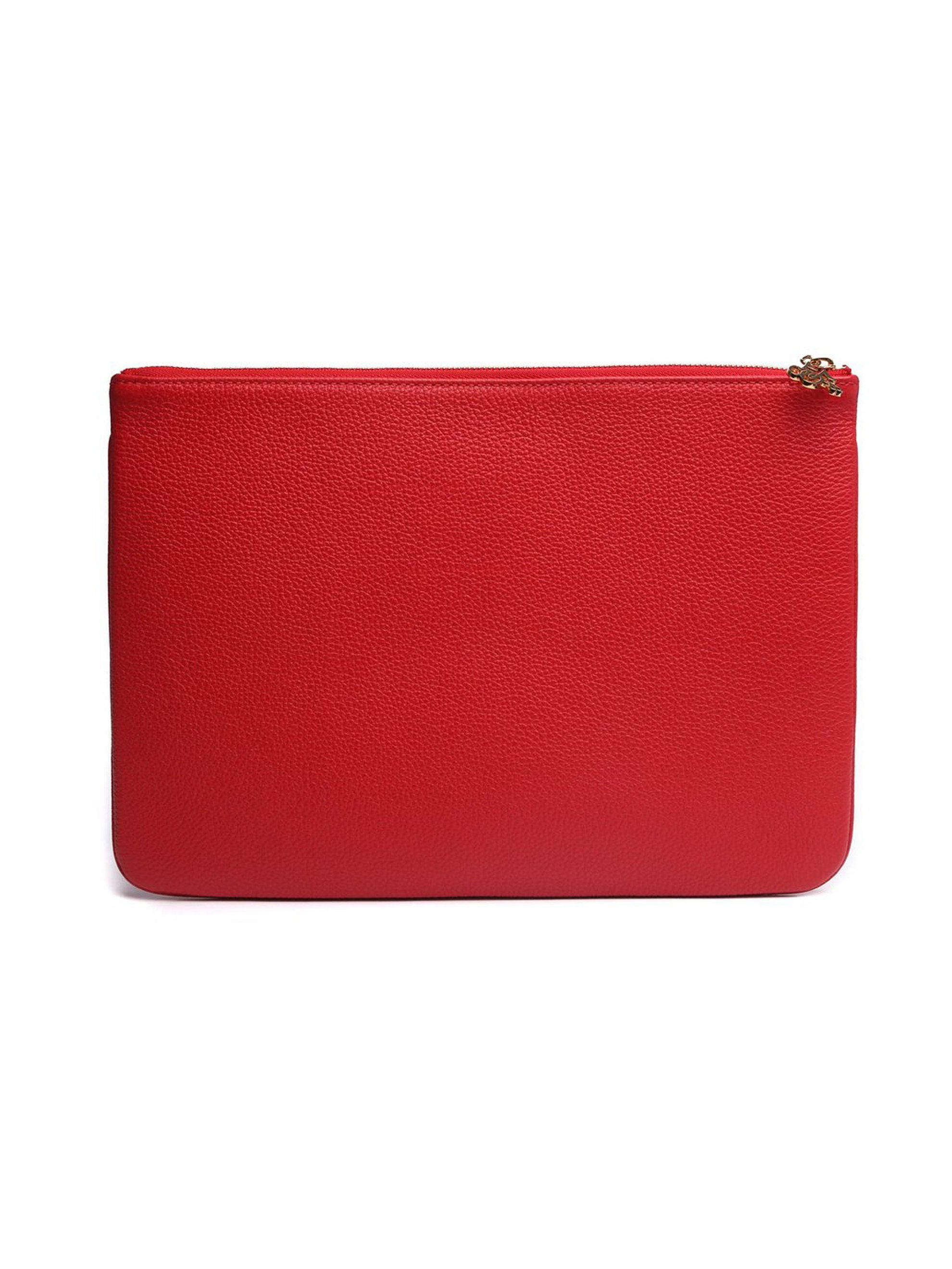 Red Leather Pouch 3