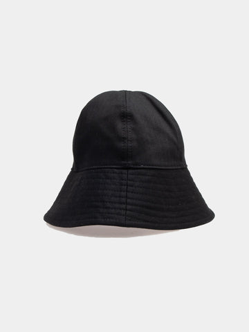 Hat 02- Raw Cotton Herringbone