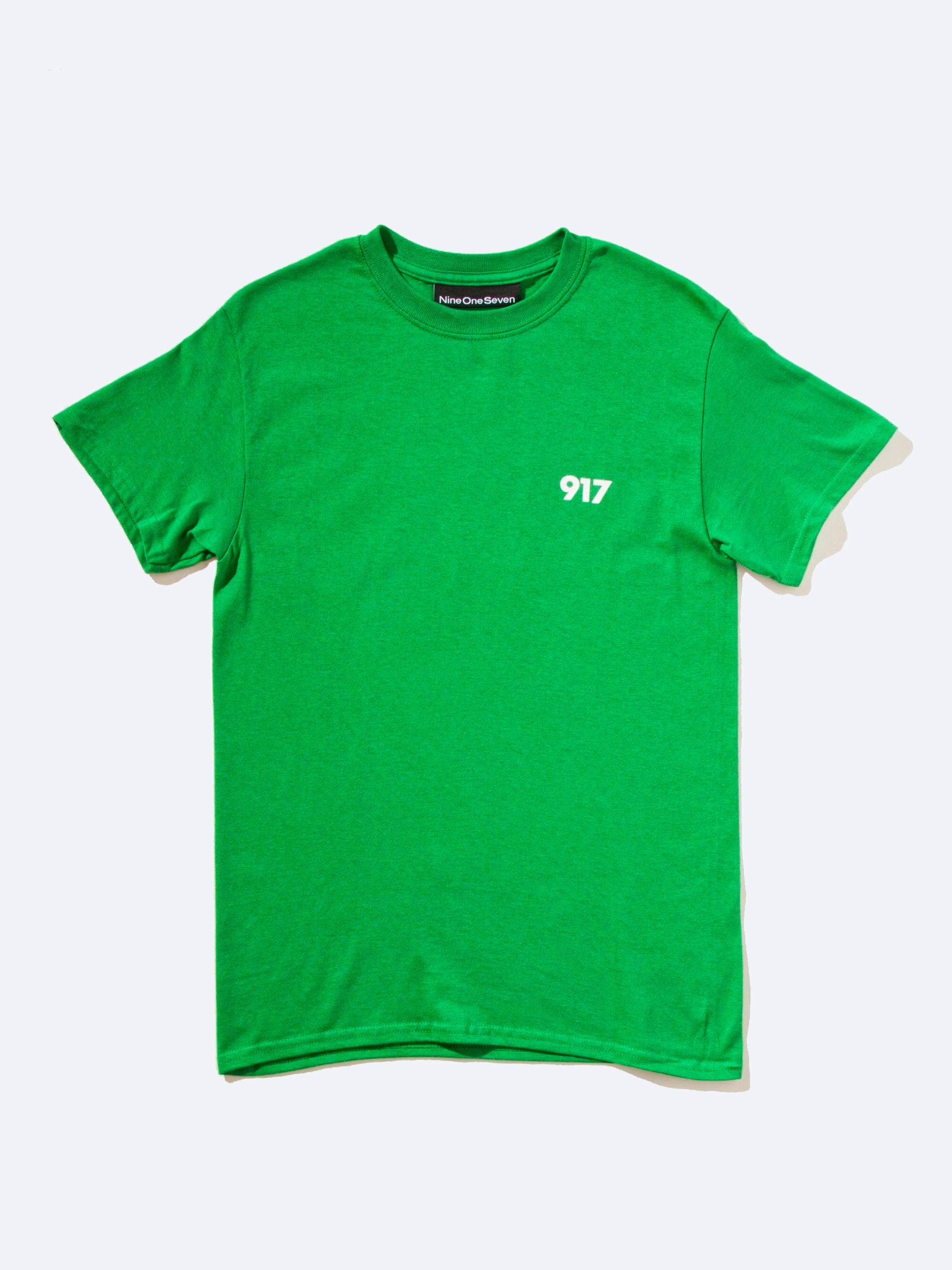 Green Area Code T-Shirt 1