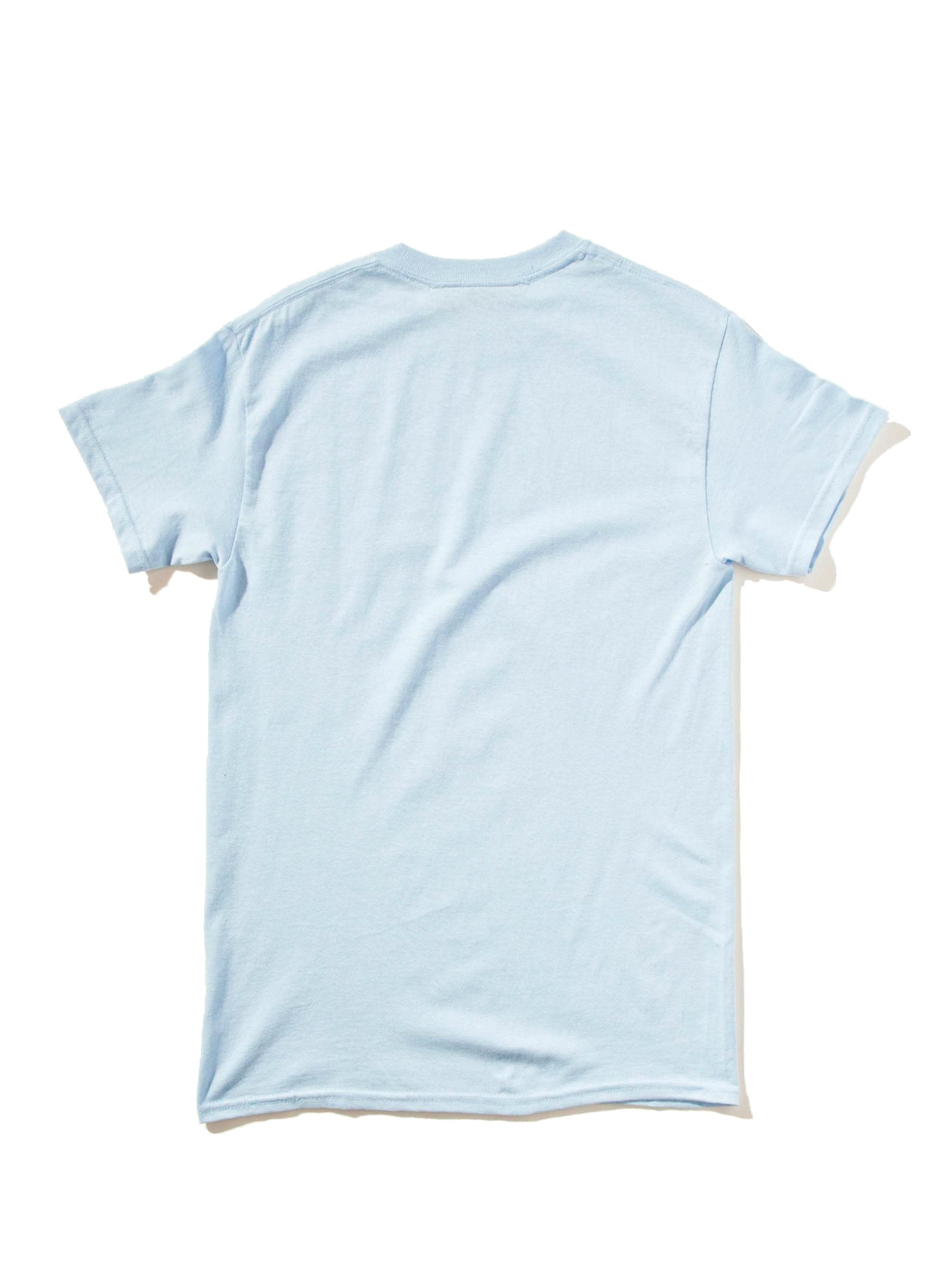 Blue Groovy Call Me T-Shirt 6