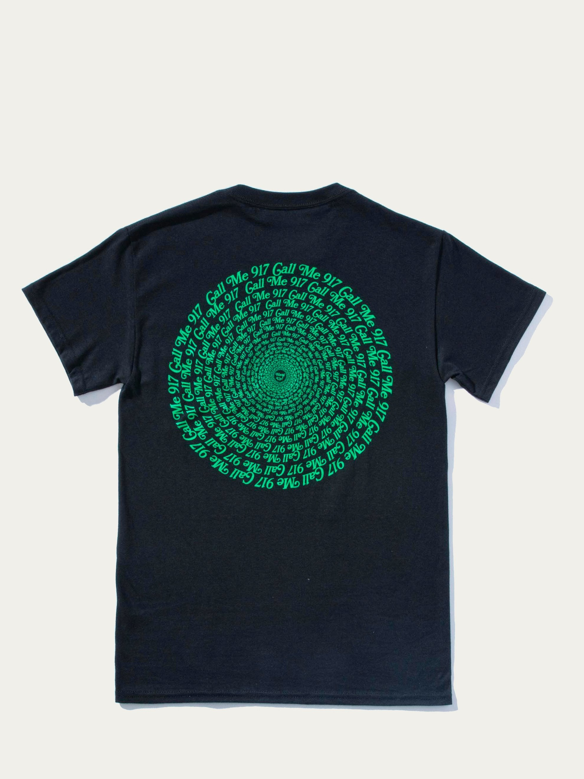 Black Hypnotic T-Shirt 1