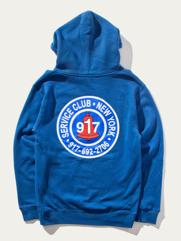 Club Pullover Hooded Sweatshirt