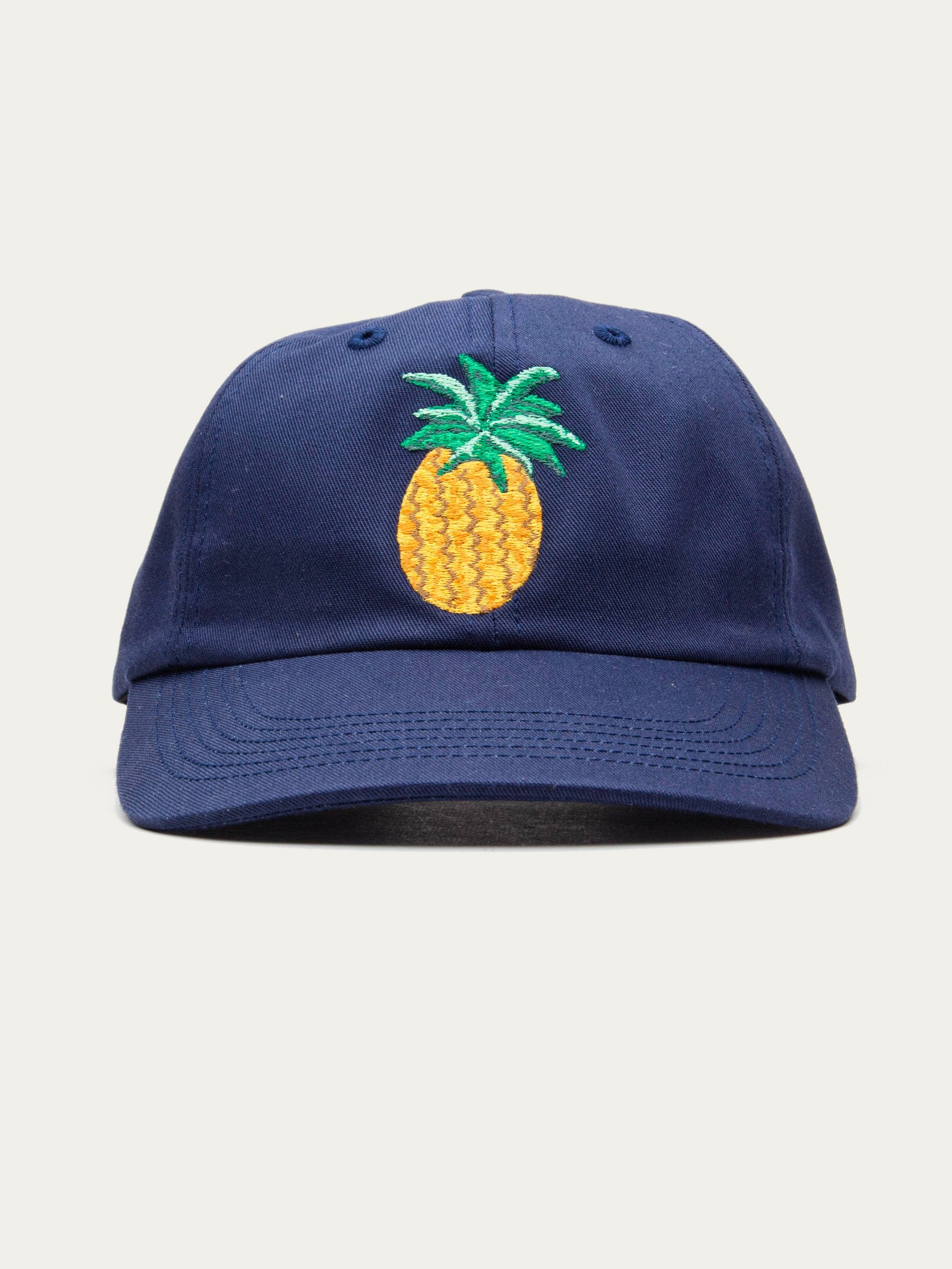 Navy Pineapple Hat 1