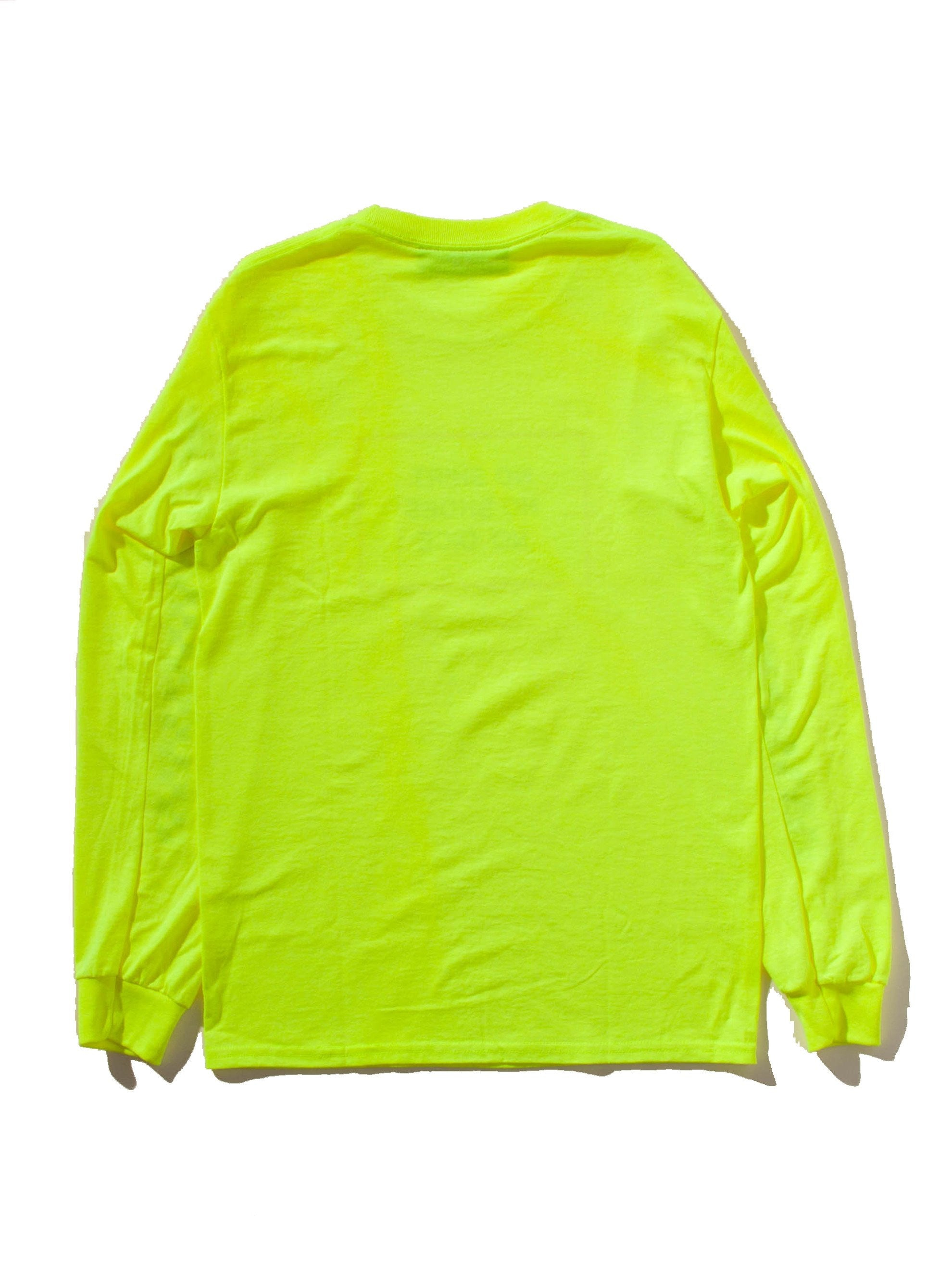 Yellow All American Burger Long Sleeve T-Shirt 8