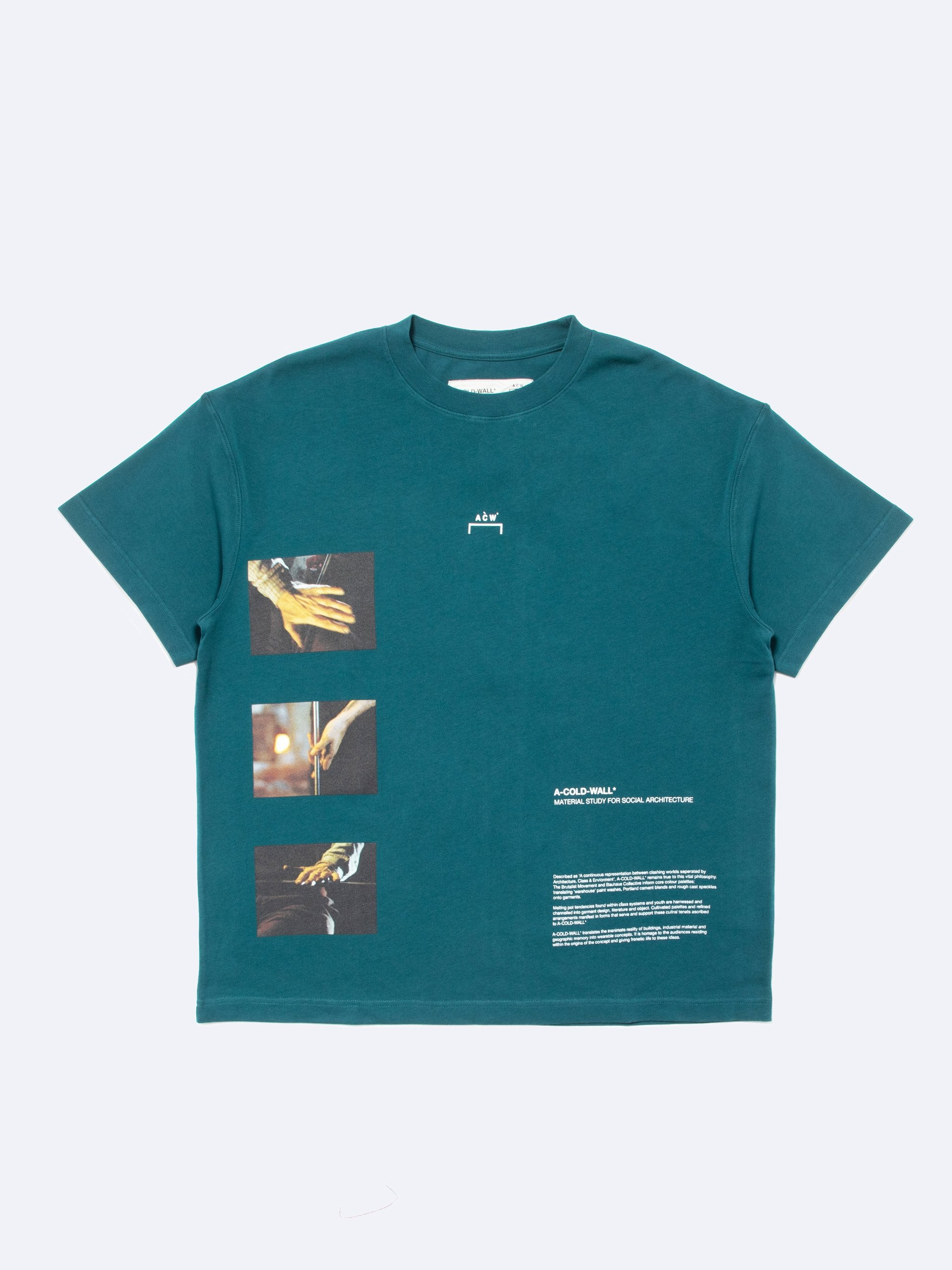 Deep Teal Glass Blower T-Shirt 1
