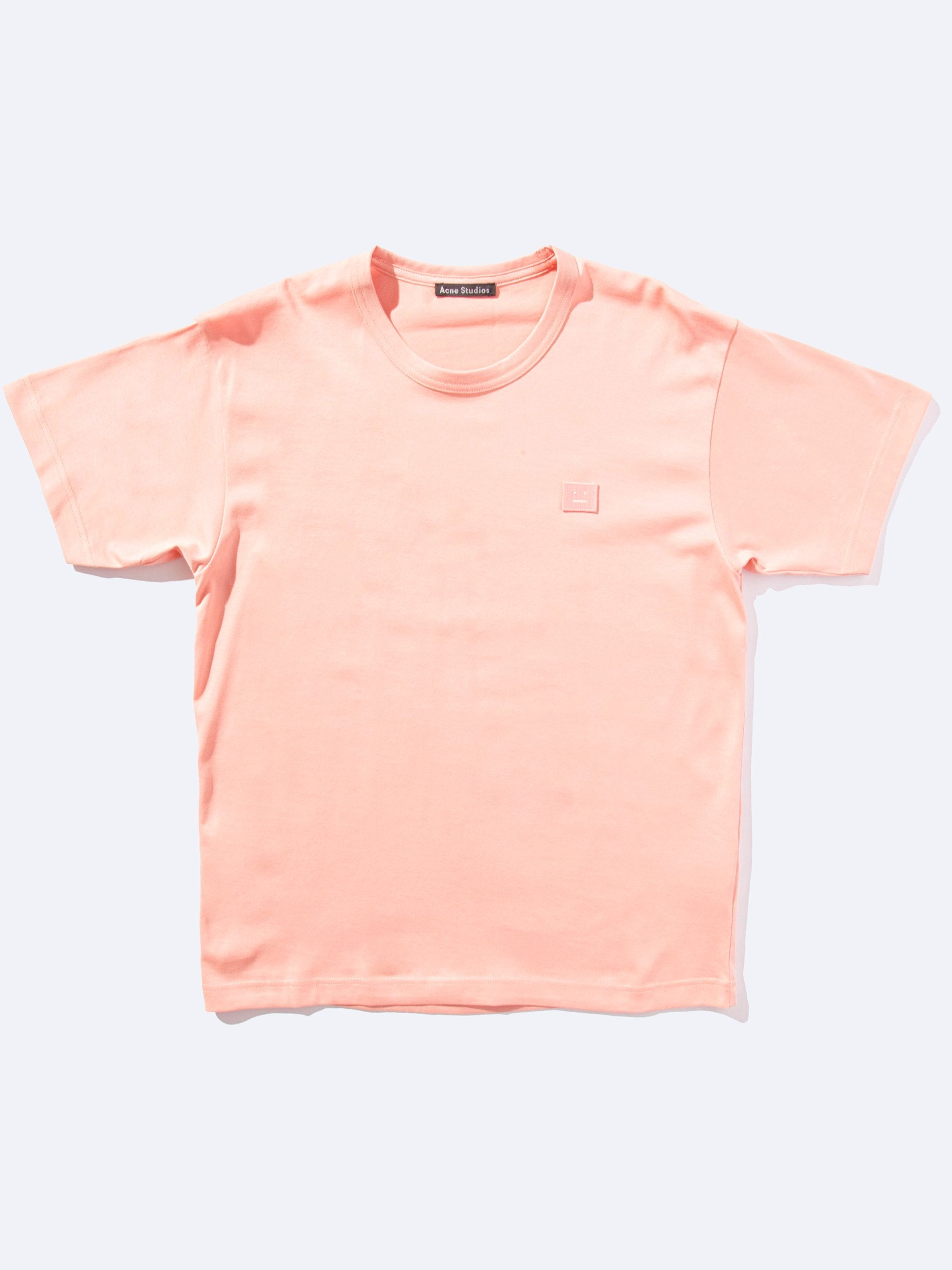 Pale Pink Nash Face T-Shirt 1