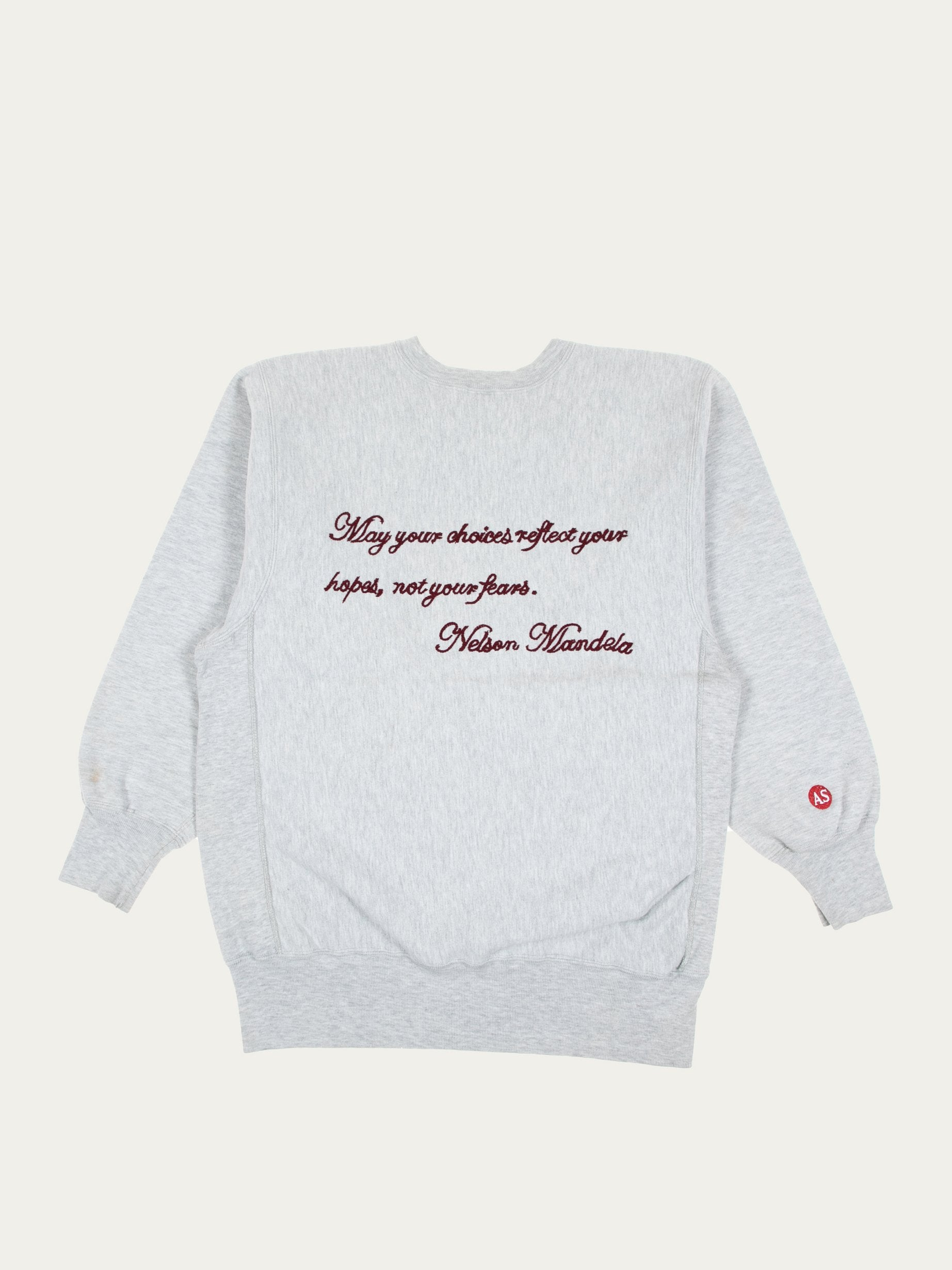 Grey Stone Of Hope Vintage Champion Sweatshirt 2