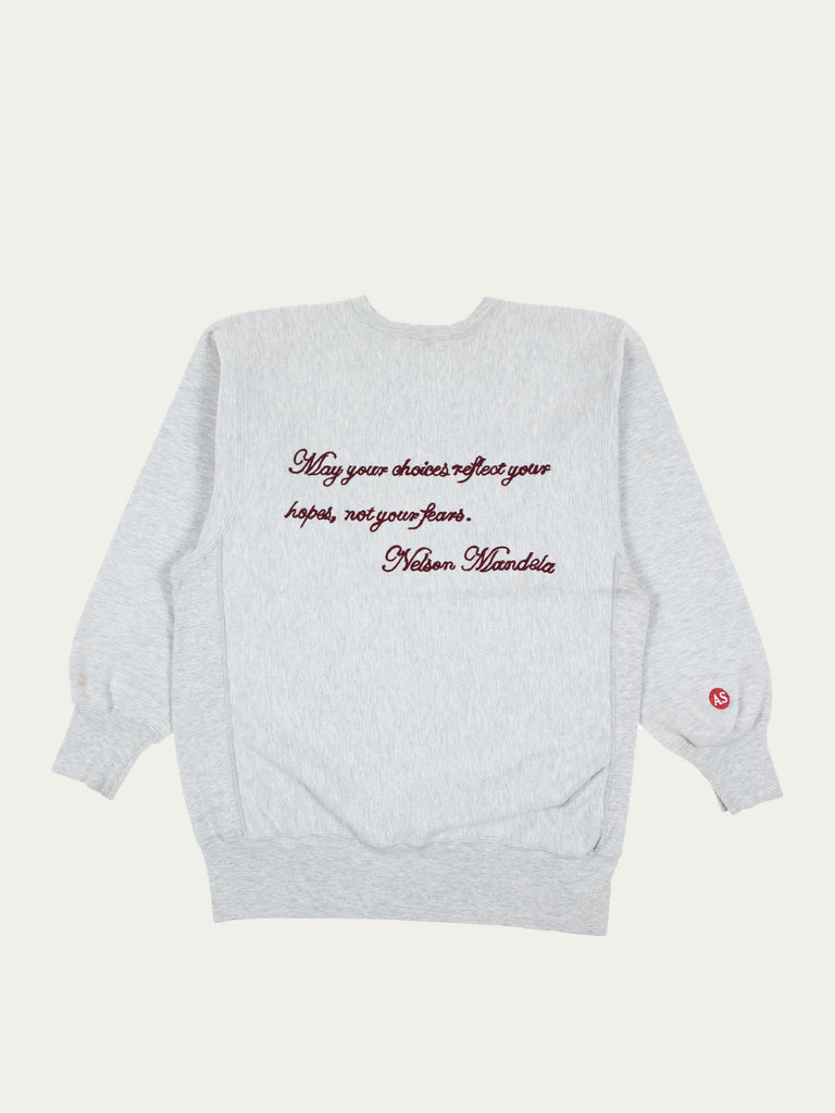 Grey Stone Of Hope Vintage Champion Sweatshirt 213934062141517