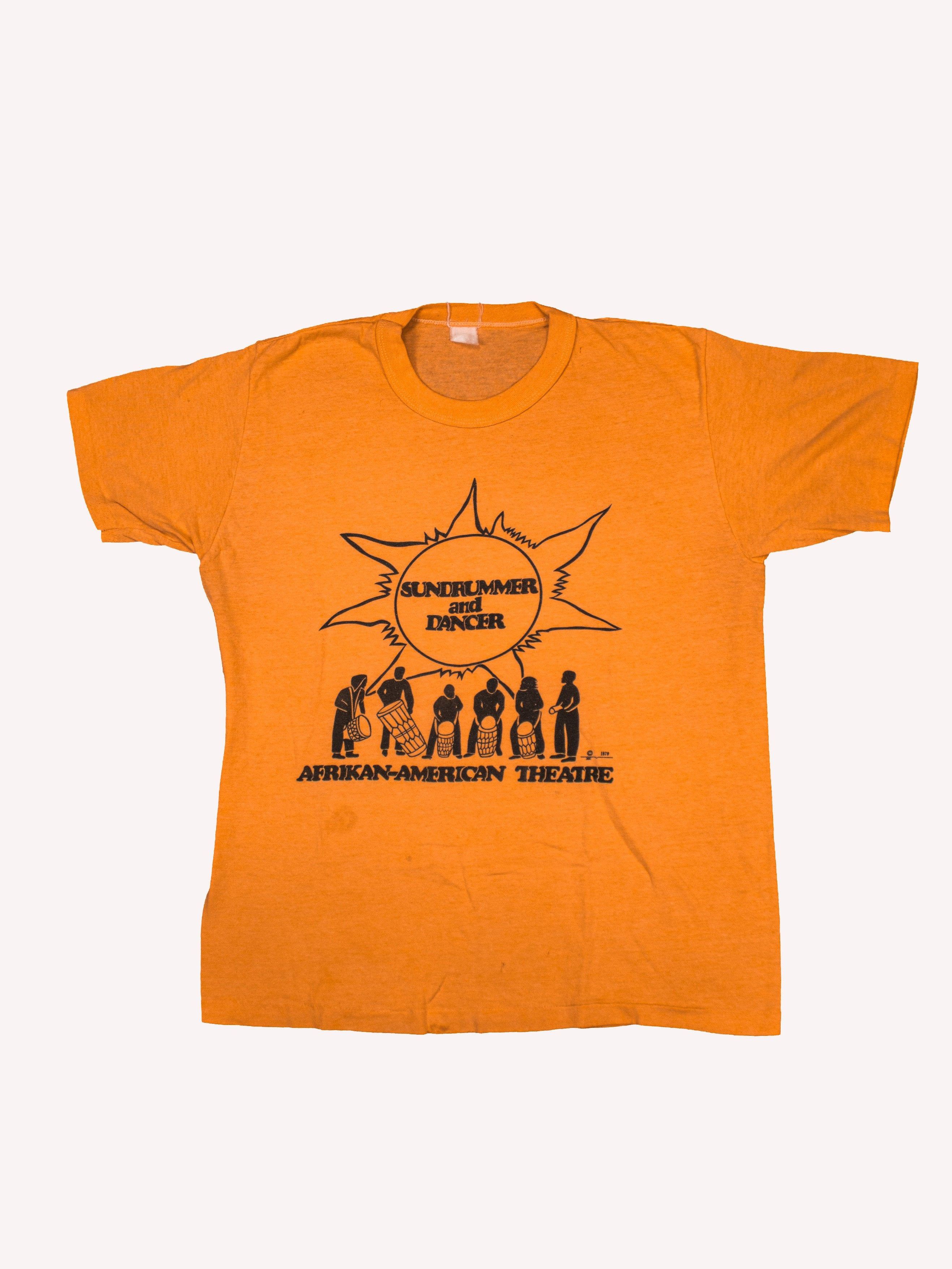 Orange 1979 African American Theater T-Shirt 1