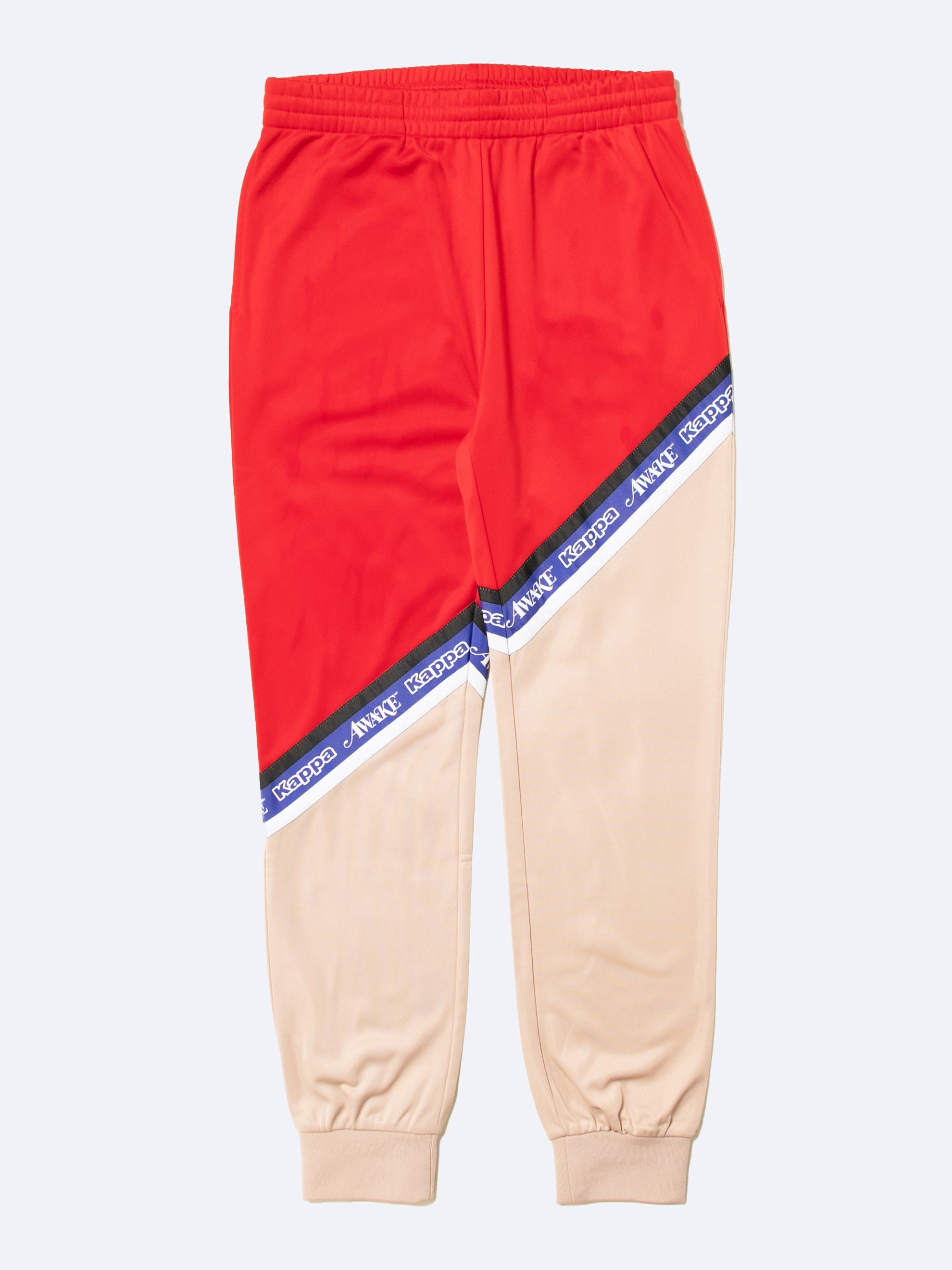 Pink-Red Awake NY x Kappa Eldred Track Pants 1