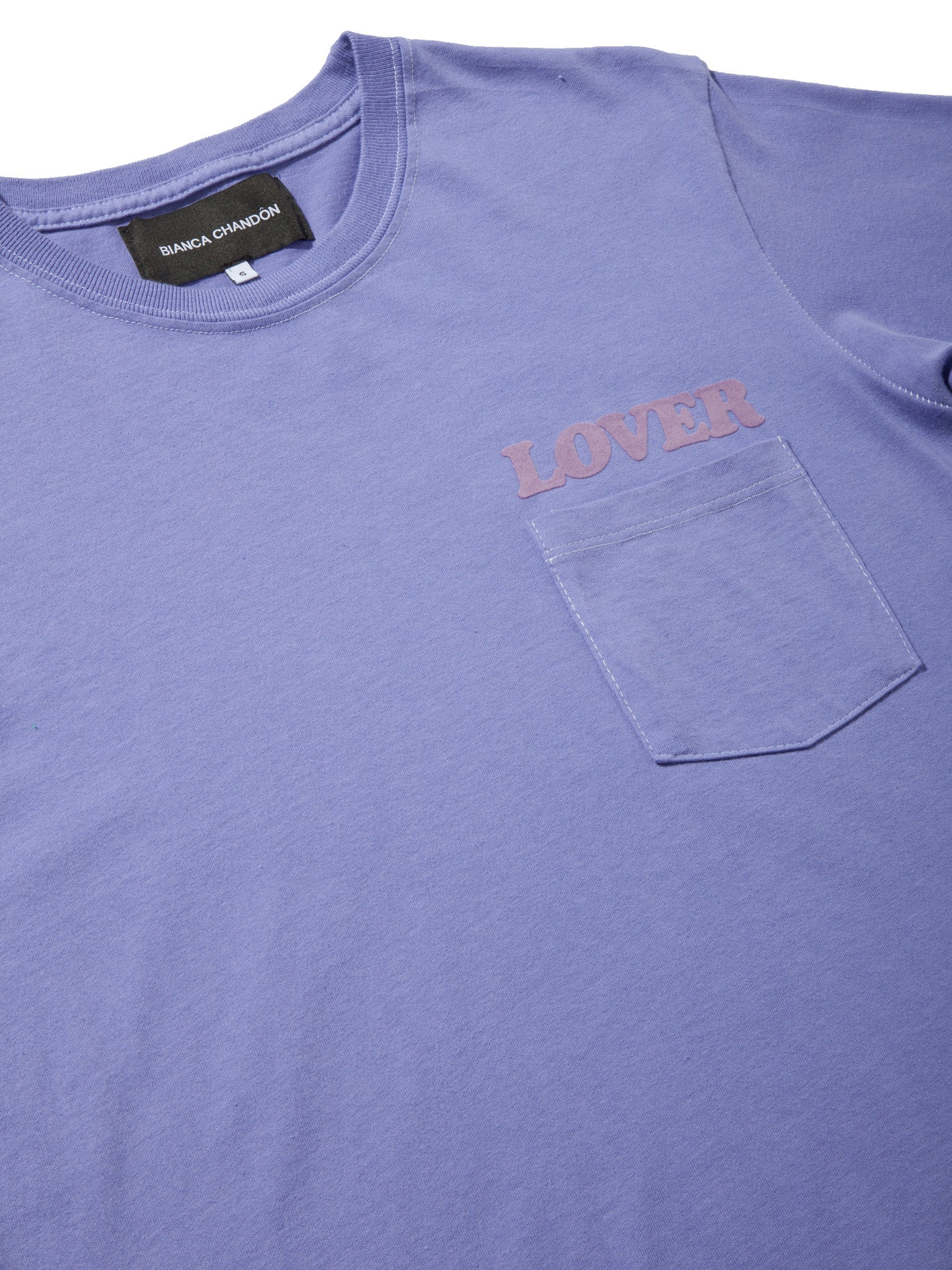 Lavender LOVER Pocket T-Shirt 8