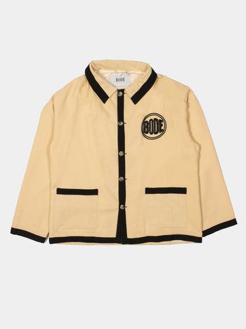 Beaded Logo Workwear Jacket
